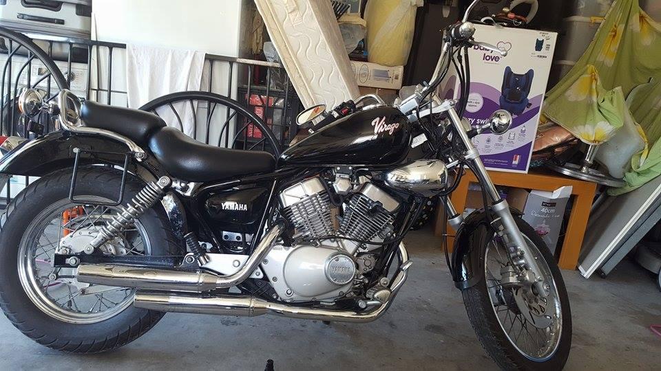 1994 yamaha virago 250 bike sales qld brisbane 2919655. Black Bedroom Furniture Sets. Home Design Ideas