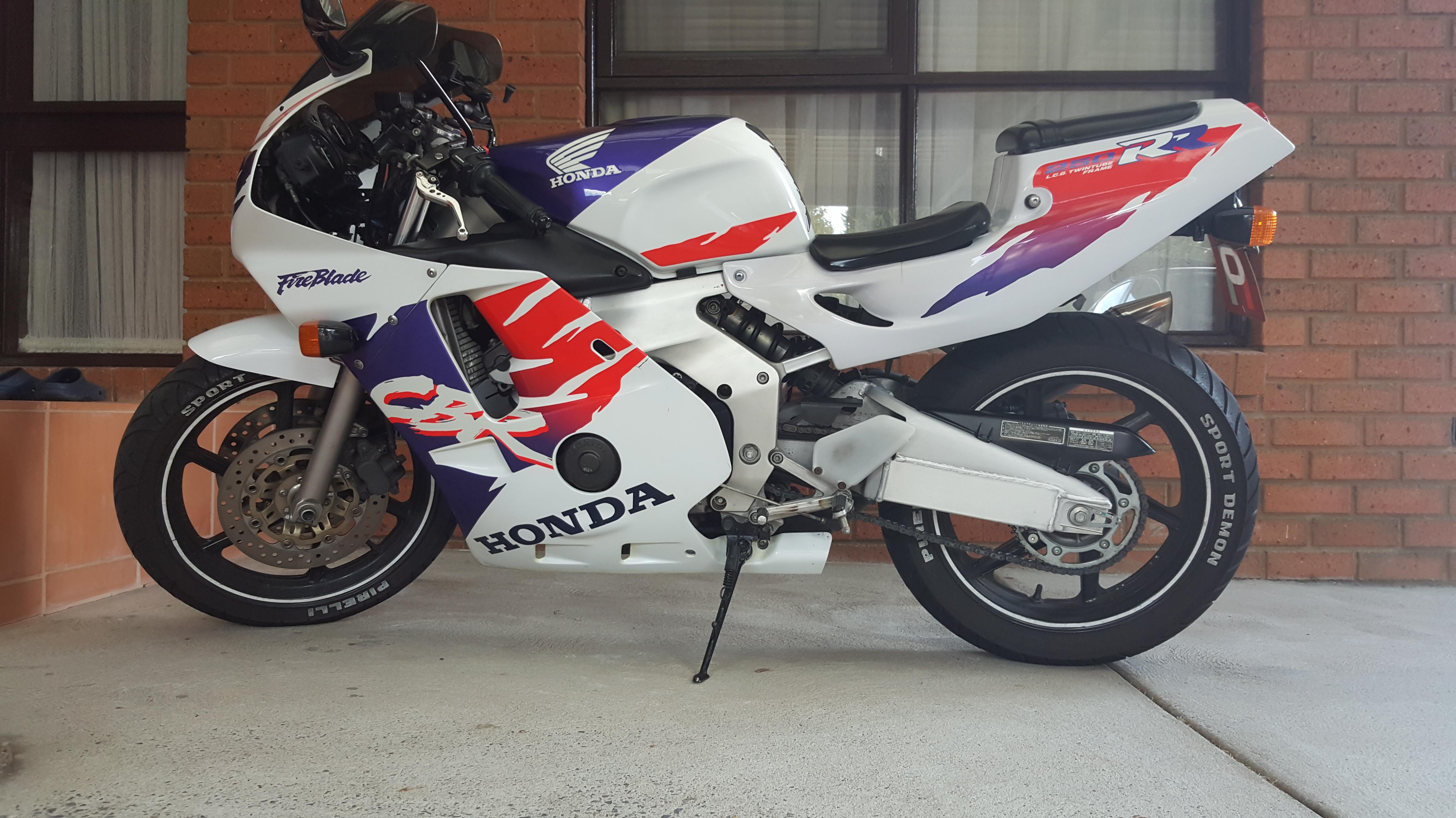 1999 honda cbr250rr bike sales vic melbourne 2691190