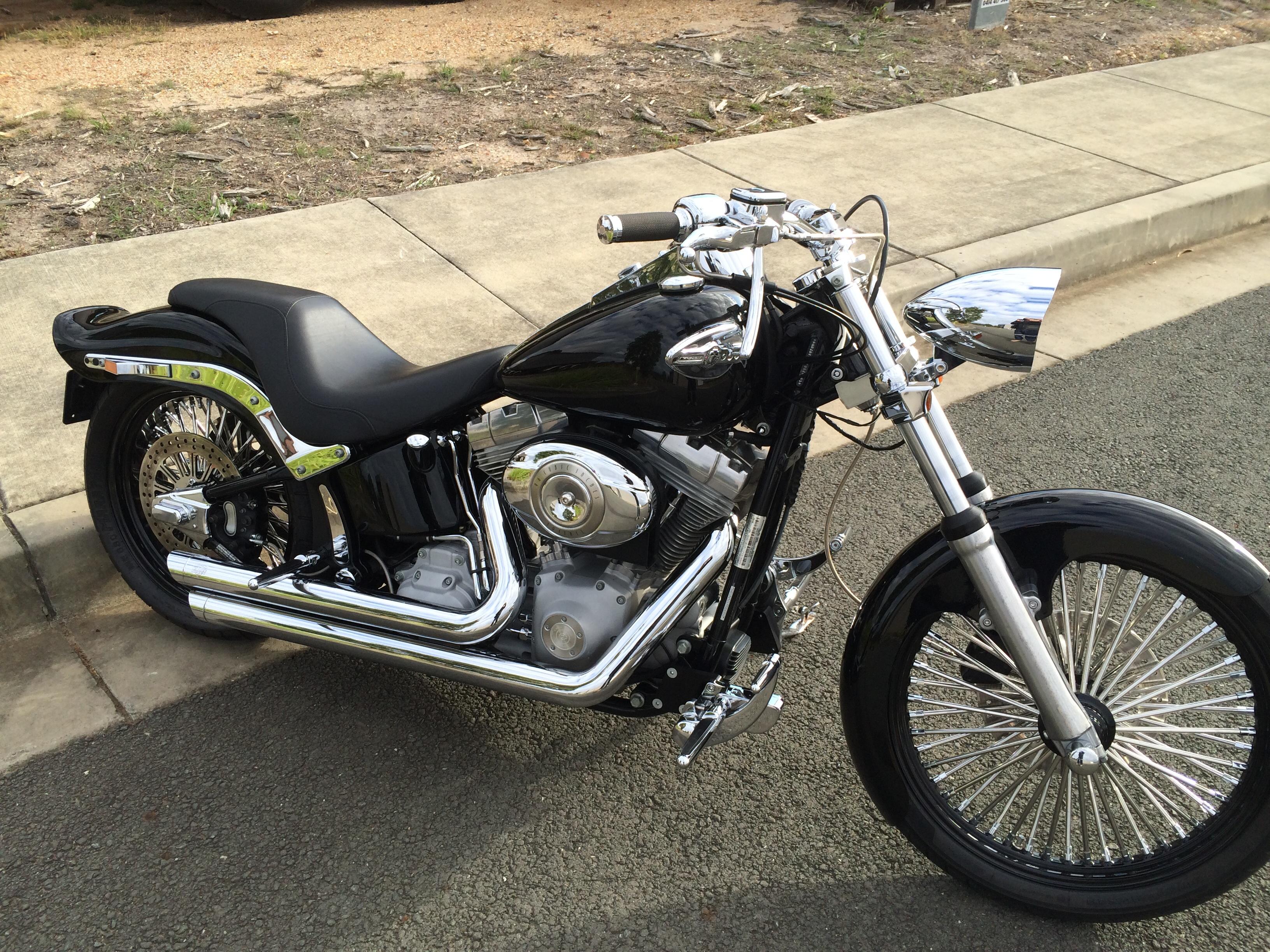 2007 Harley Davidson Fxst Softail Standard My07 Bike