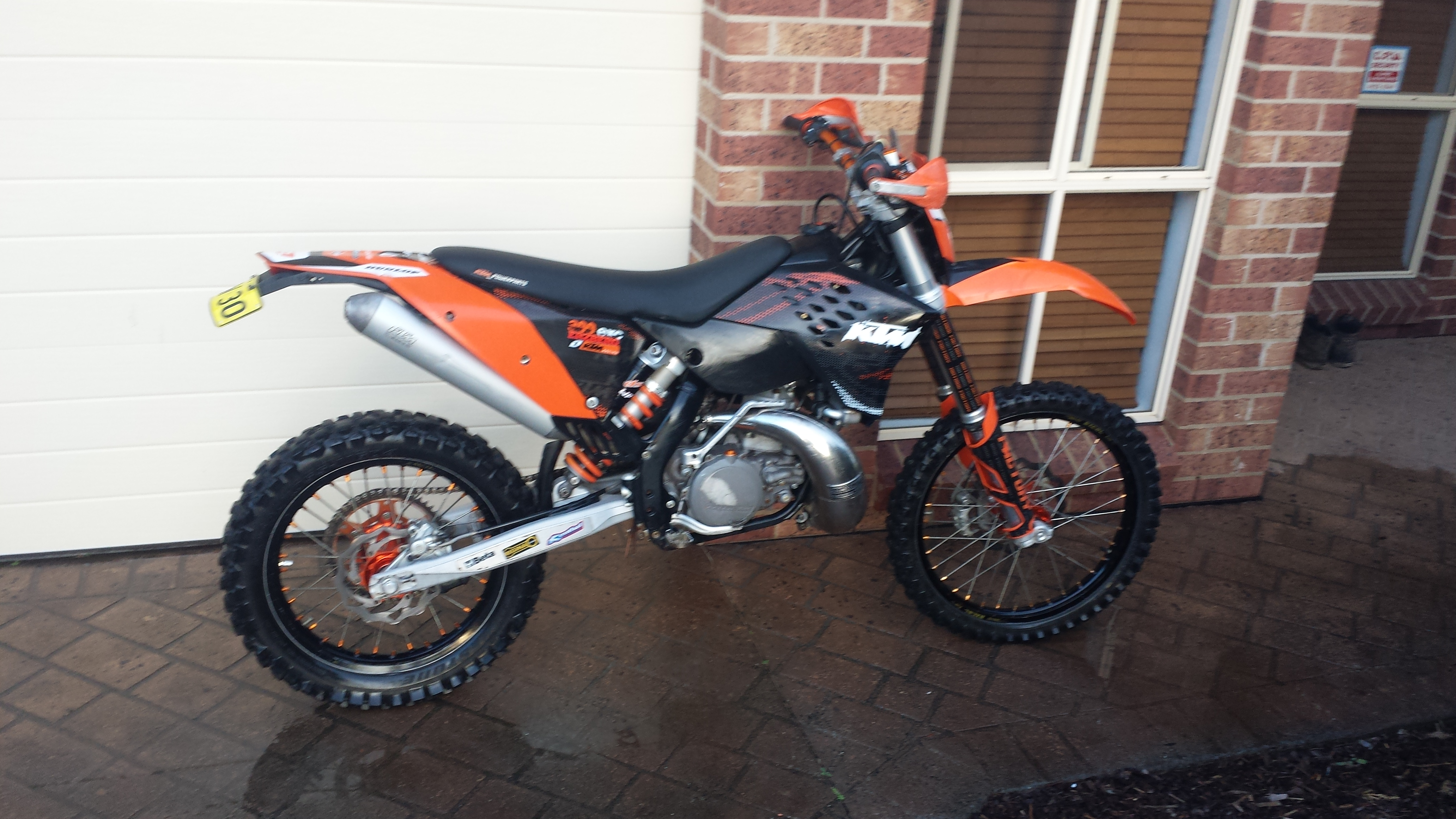 2008 KTM 300 EXC-E MY09