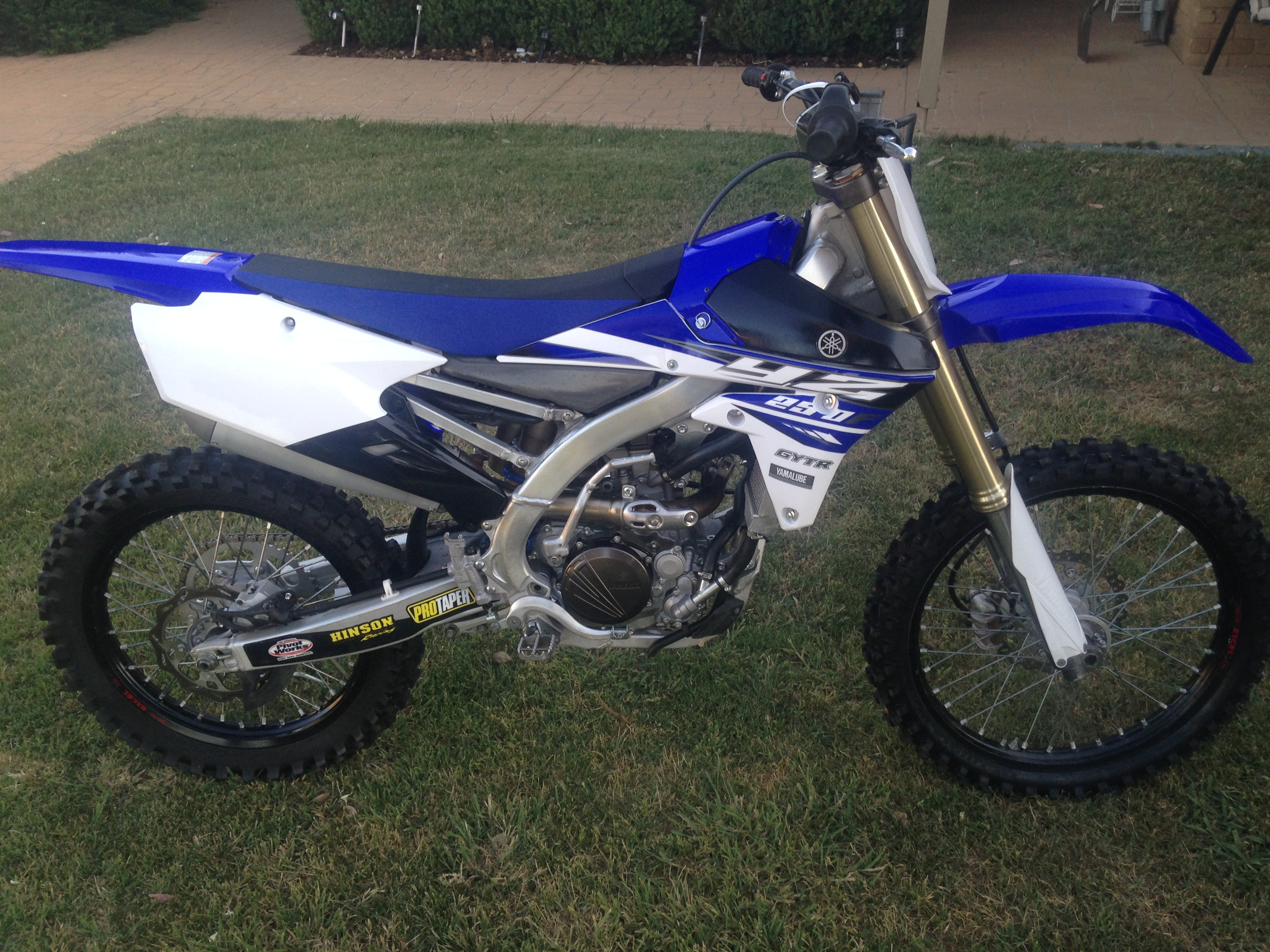 2015 yamaha yz250f bike sales vic north east 2919128 for Yamaha yz250f for sale