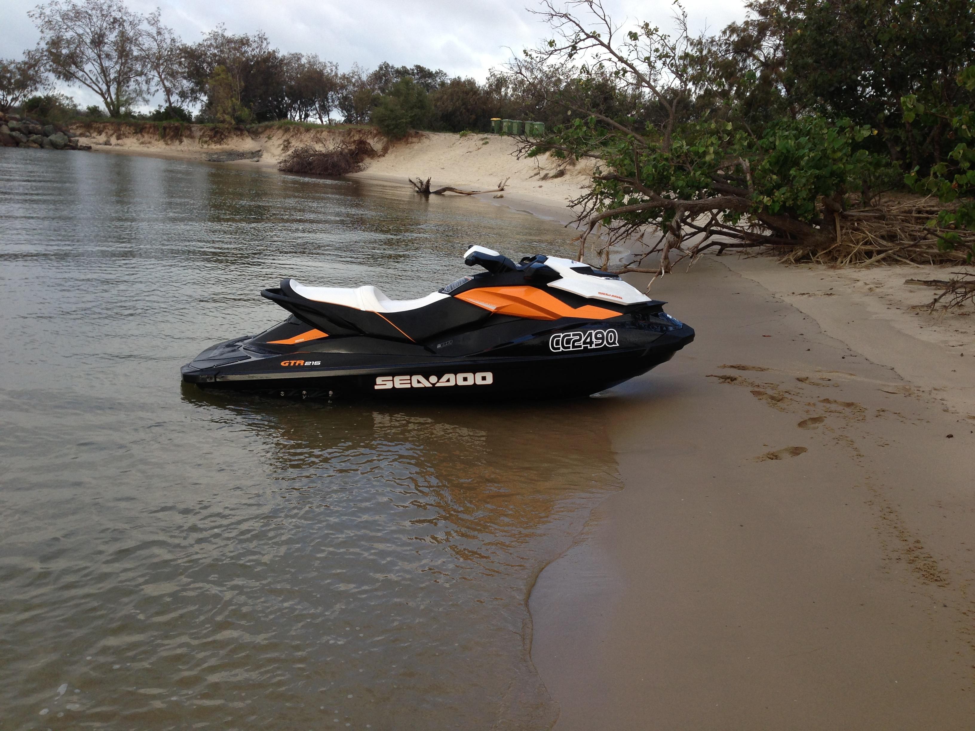 2013 Sea Doo Gtr 215 My12 Boat Sales Qld Gold Coast