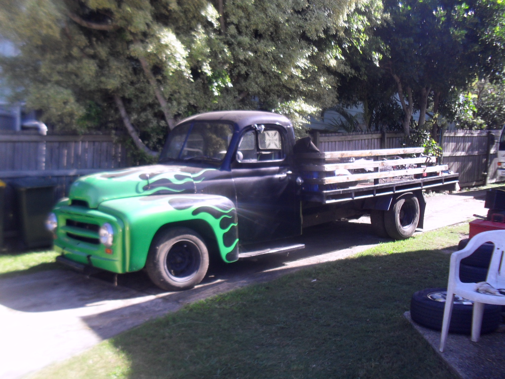 1953 international harvester pickup for sale r120 autos weblog. Black Bedroom Furniture Sets. Home Design Ideas