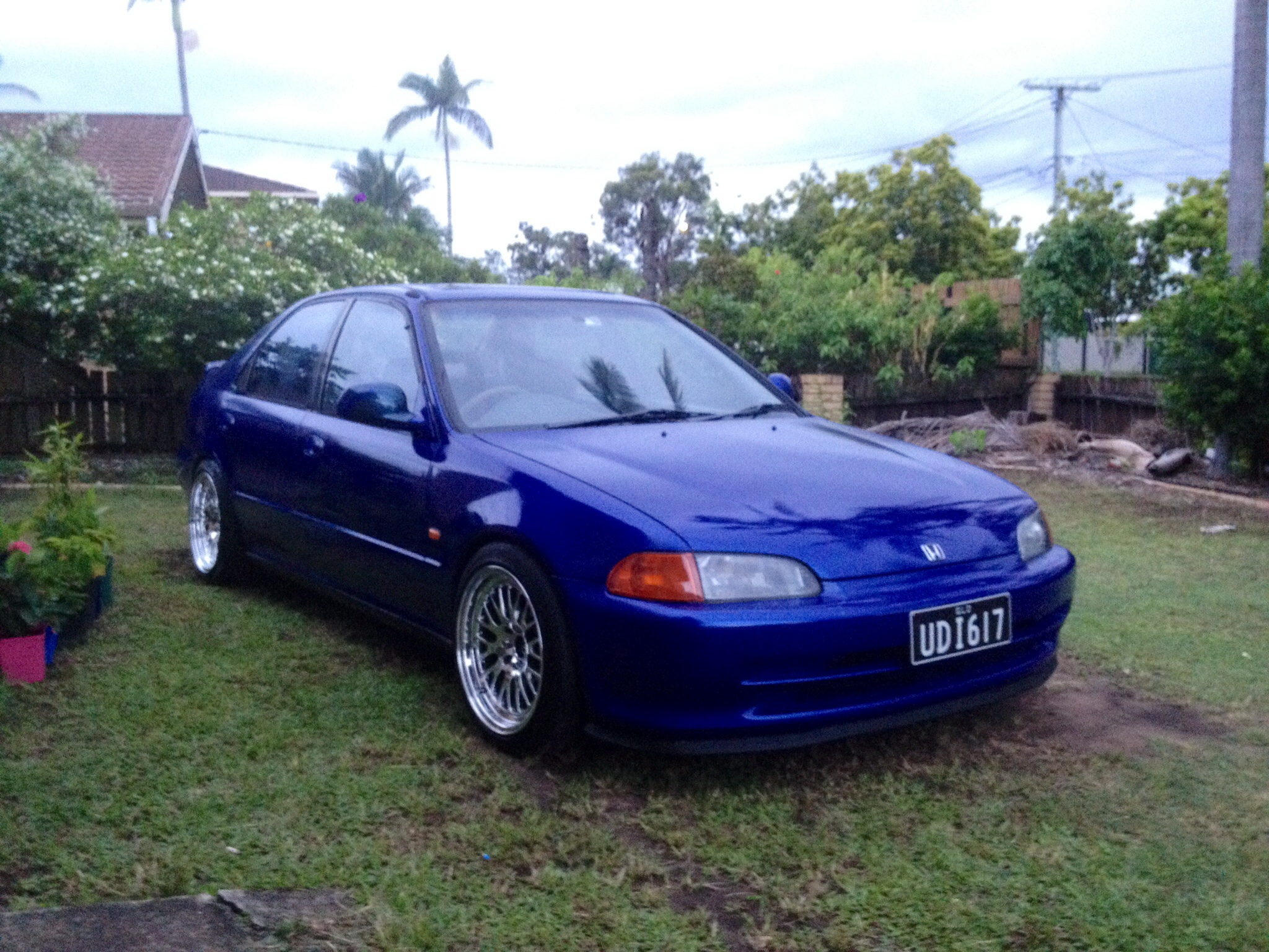 1993 honda civic car sales qld brisbane 2613693. Black Bedroom Furniture Sets. Home Design Ideas