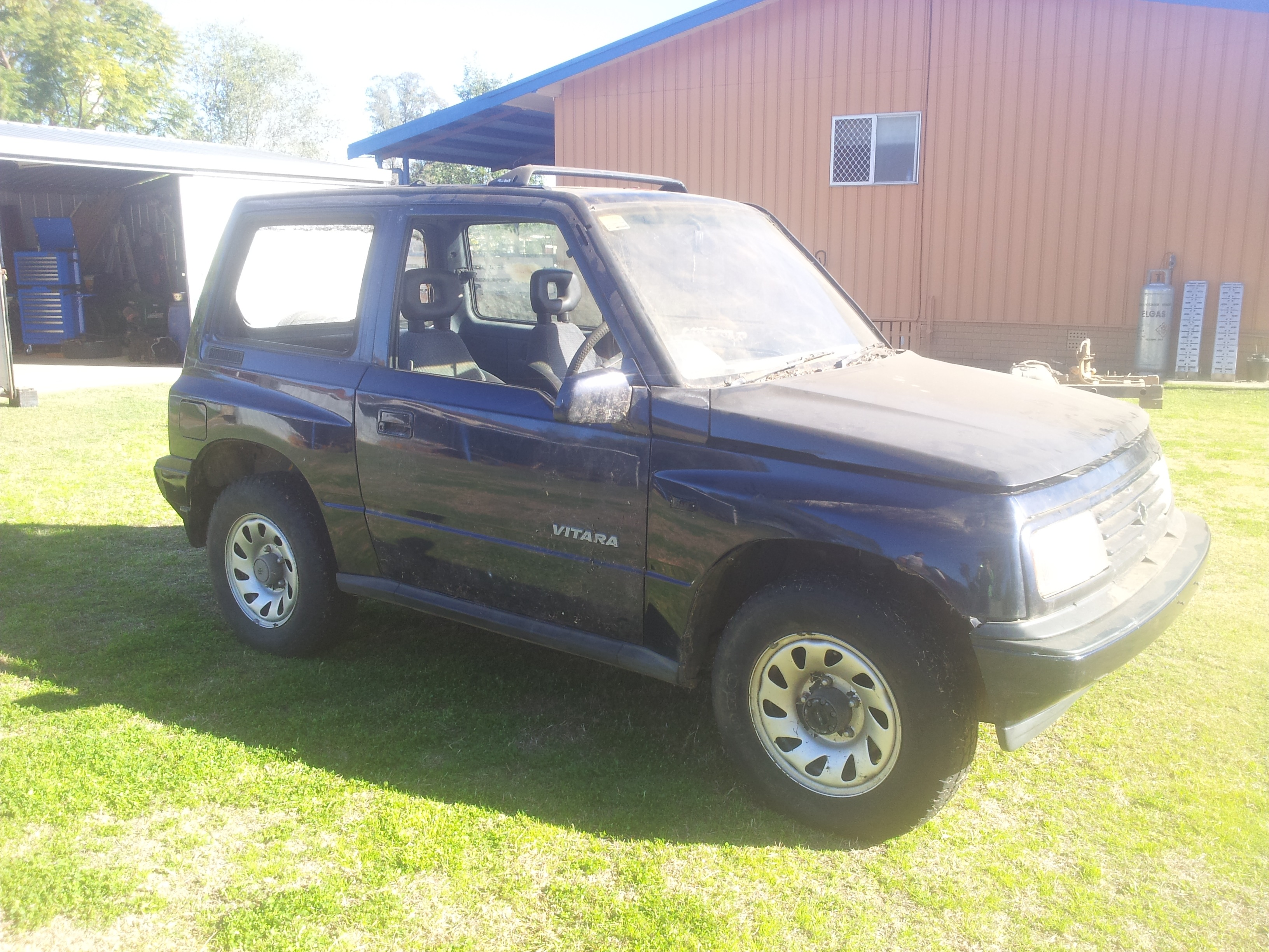 1993 suzuki vitara jlx 4x4 for sale or swap qld darling downs 2268709. Black Bedroom Furniture Sets. Home Design Ideas