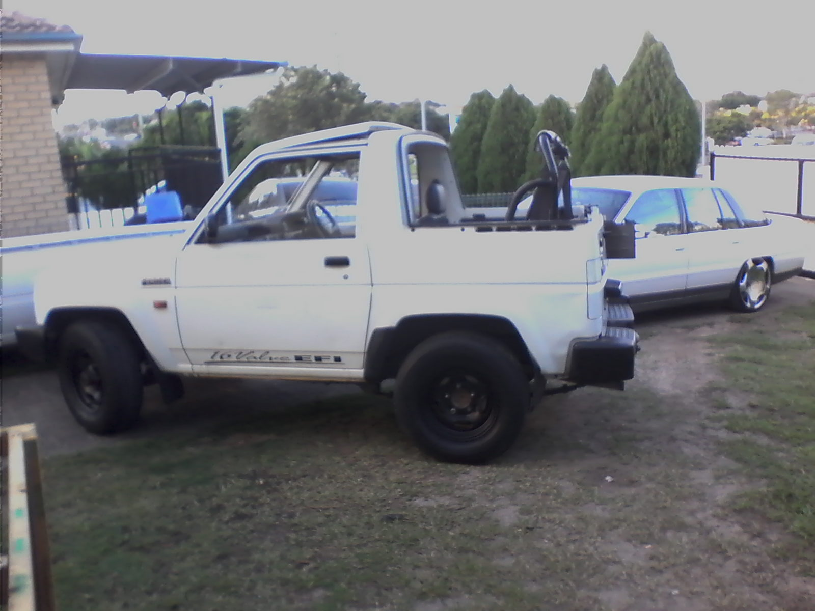 1994 daihatsu feroza 4x4 convertible for sale or swap qld brisbane 2218163. Black Bedroom Furniture Sets. Home Design Ideas