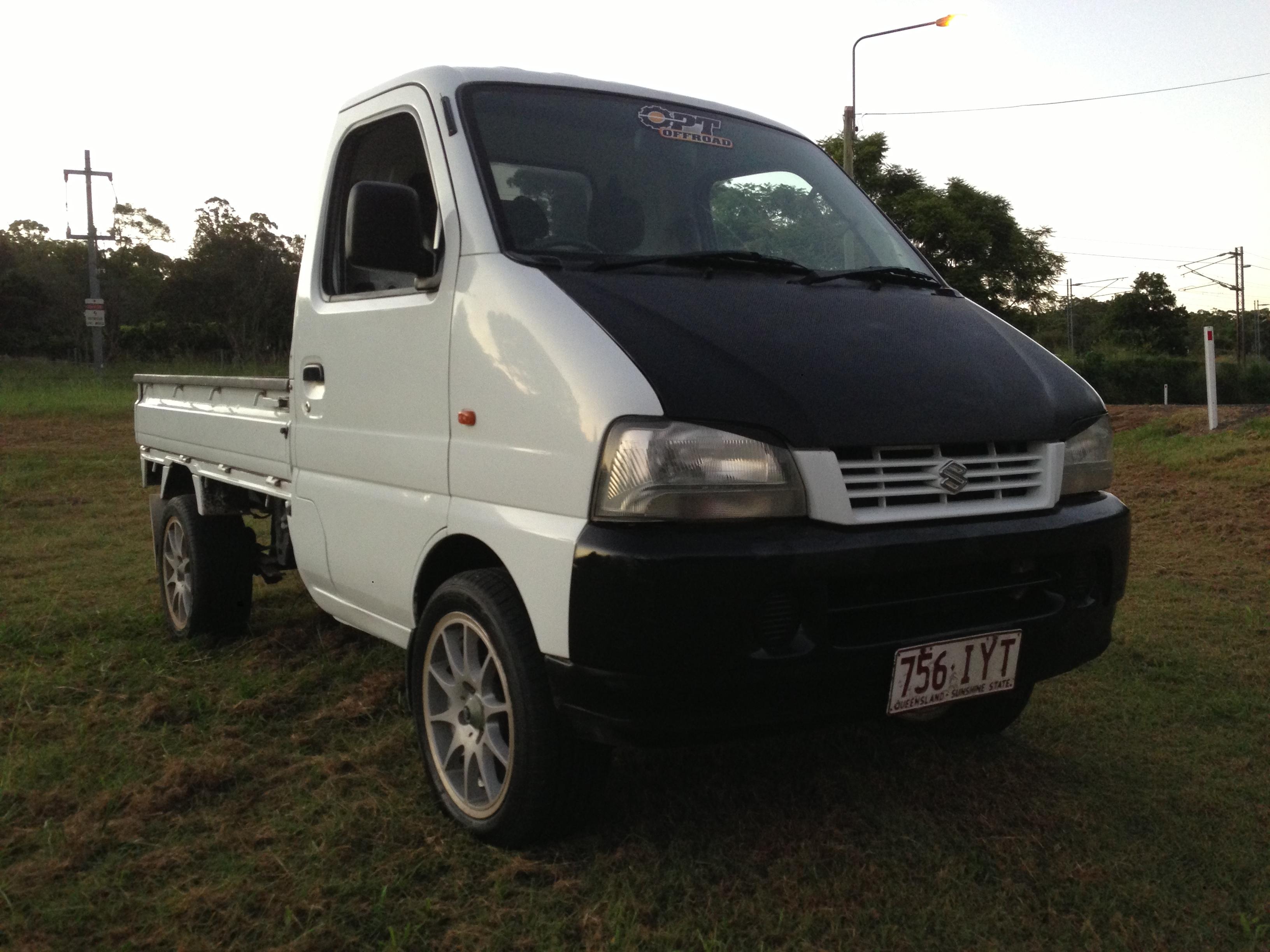 2000 suzuki carry truck 4x4 car sales qld sunshine coast 2590035. Black Bedroom Furniture Sets. Home Design Ideas