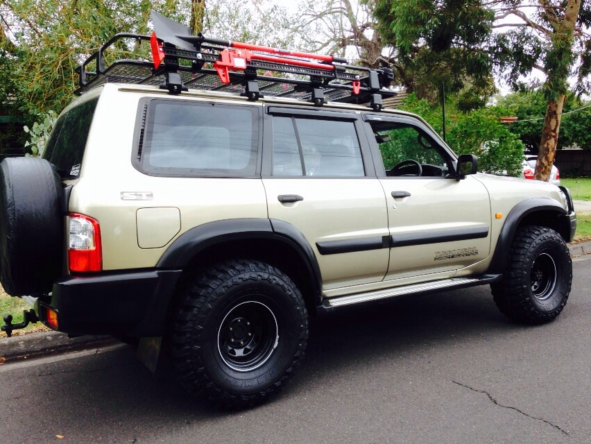 2002 nissan patrol dx 4x4 gu iii car sales vic melbourne 2622984. Black Bedroom Furniture Sets. Home Design Ideas