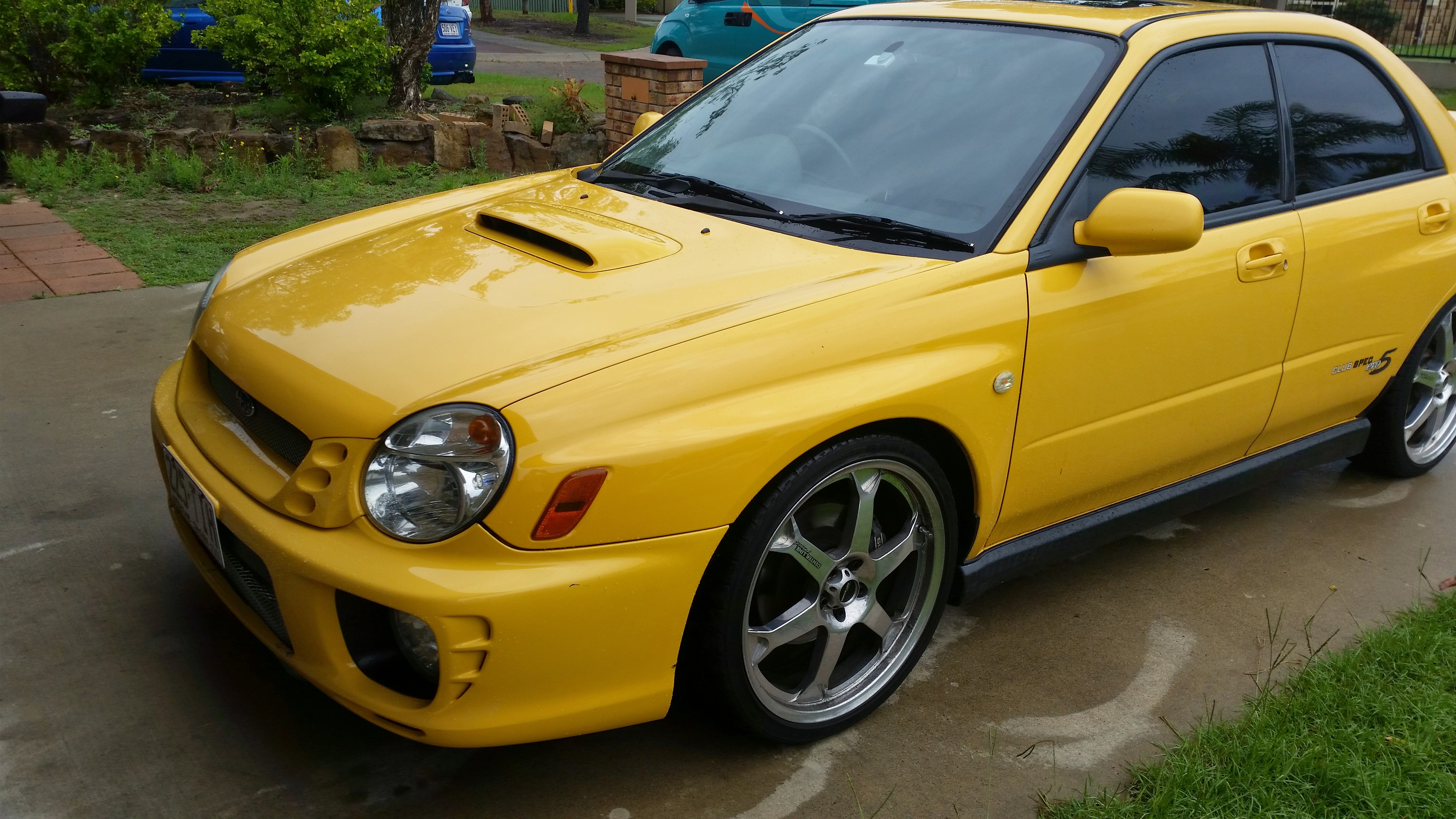 2002 subaru impreza wrx club spec evo 6 my03 car sales. Black Bedroom Furniture Sets. Home Design Ideas
