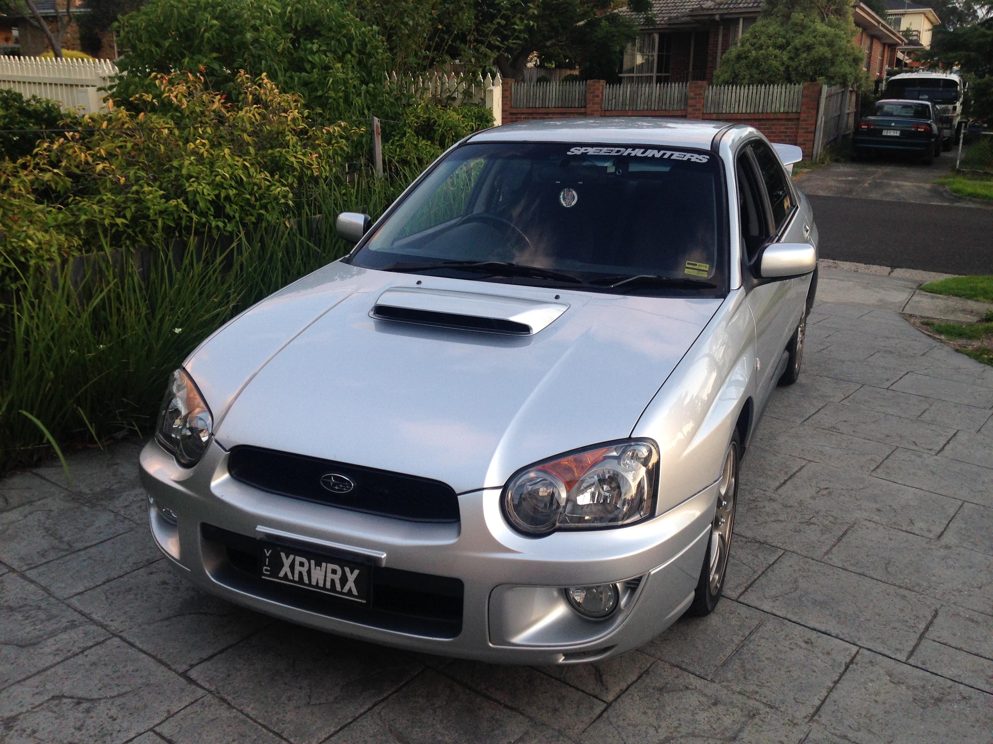 2002 Subaru Impreza WRX (AWD) MY03