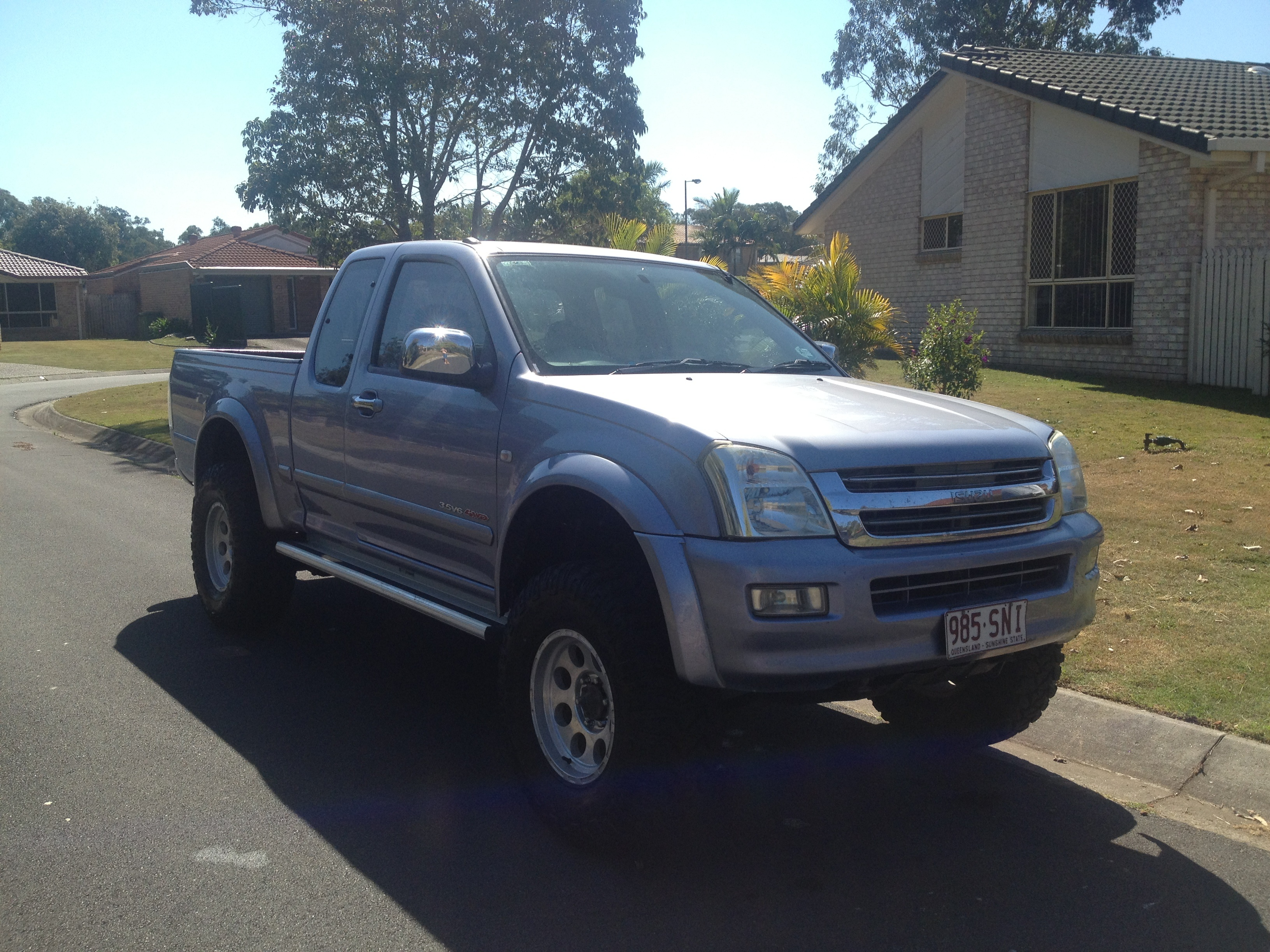 Pictures of Holden Rodeo Off Road 4x4