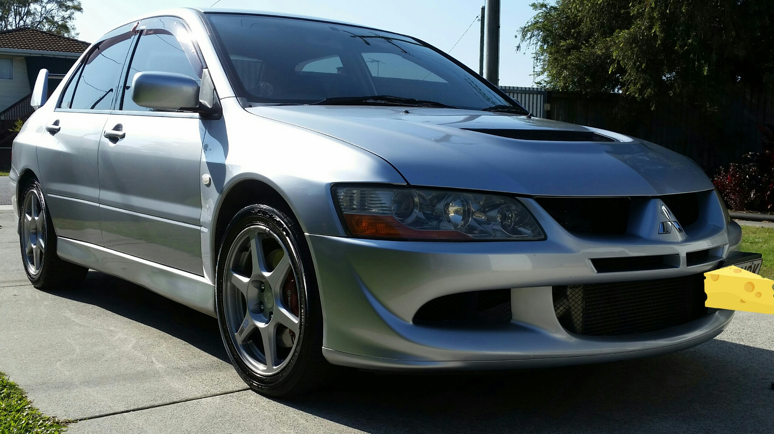 2003 mitsubishi lancer ralliart evolution viii cz car. Black Bedroom Furniture Sets. Home Design Ideas