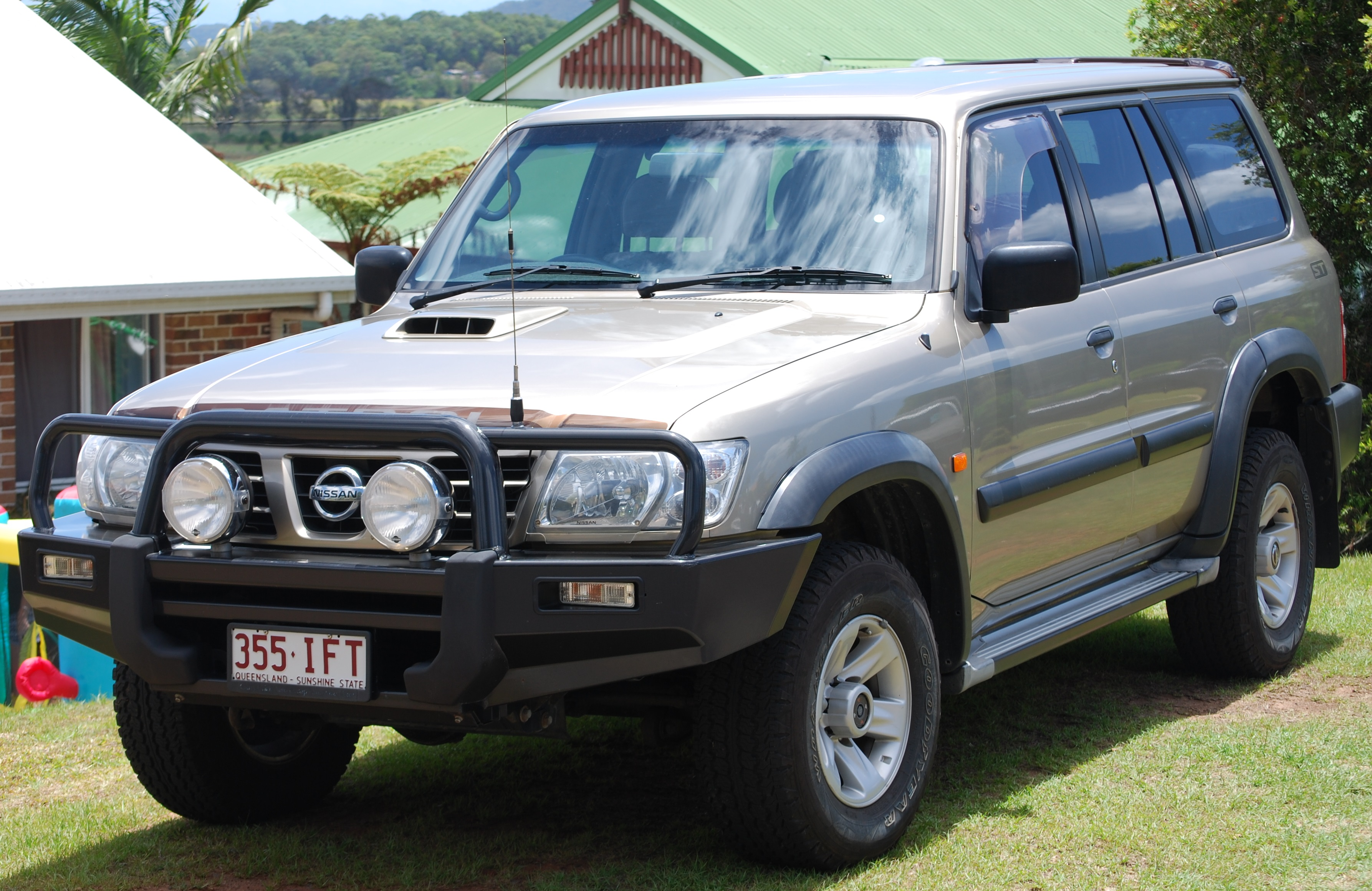 2003 nissan patrol st 4x4 gu iii car sales qld sunshine coast 2560656. Black Bedroom Furniture Sets. Home Design Ideas