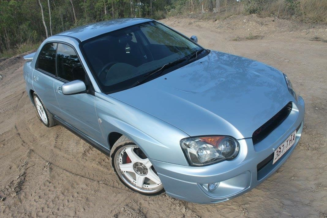 2004 subaru impreza rs awd my04 car sales qld brisbane 2921120. Black Bedroom Furniture Sets. Home Design Ideas