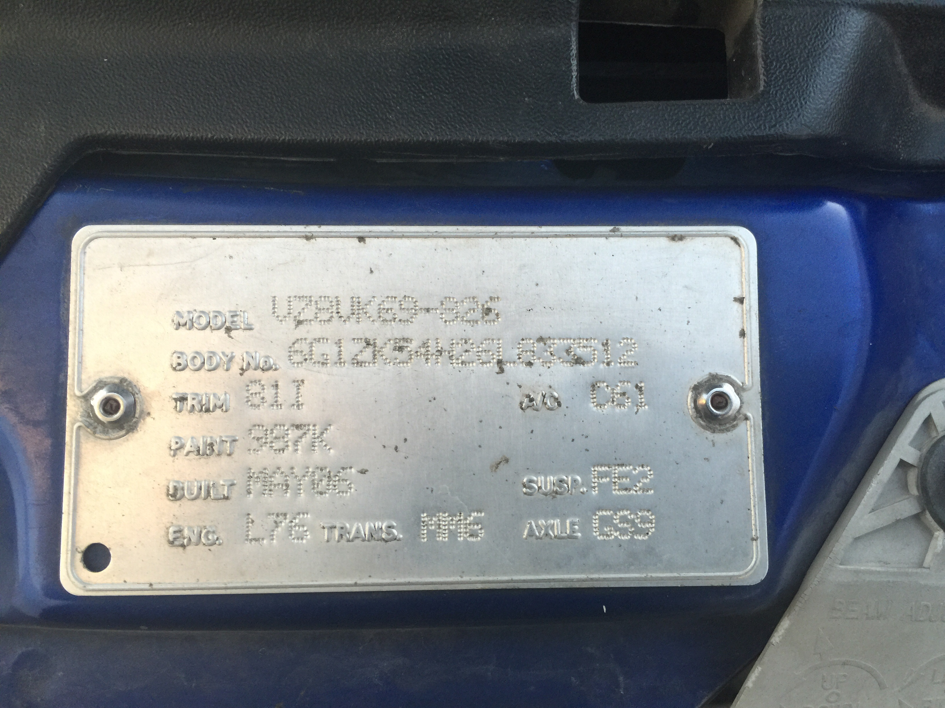 Vz Commodore Manual Shifter Linkage