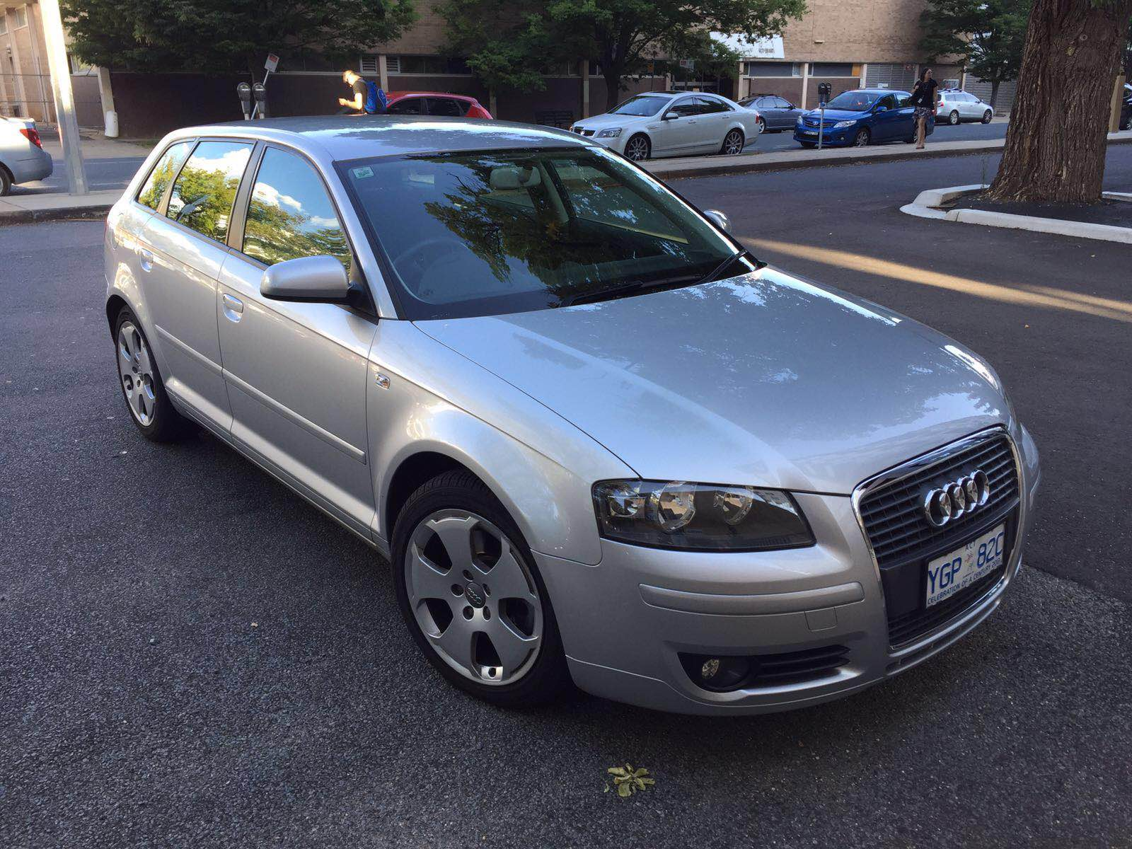 2007 audi a3 2 0 tdi ambition 8p car sales act canberra. Black Bedroom Furniture Sets. Home Design Ideas