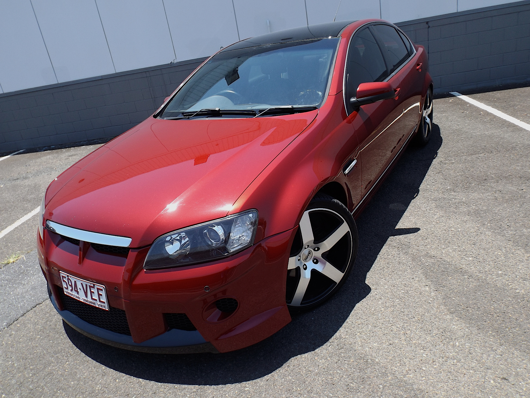 holden ve commodore 2007 how to change speed senor