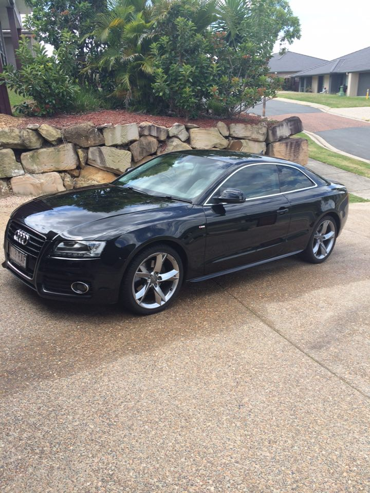 2008 audi a5 3 2 fsi s line 8t car sales qld brisbane. Black Bedroom Furniture Sets. Home Design Ideas