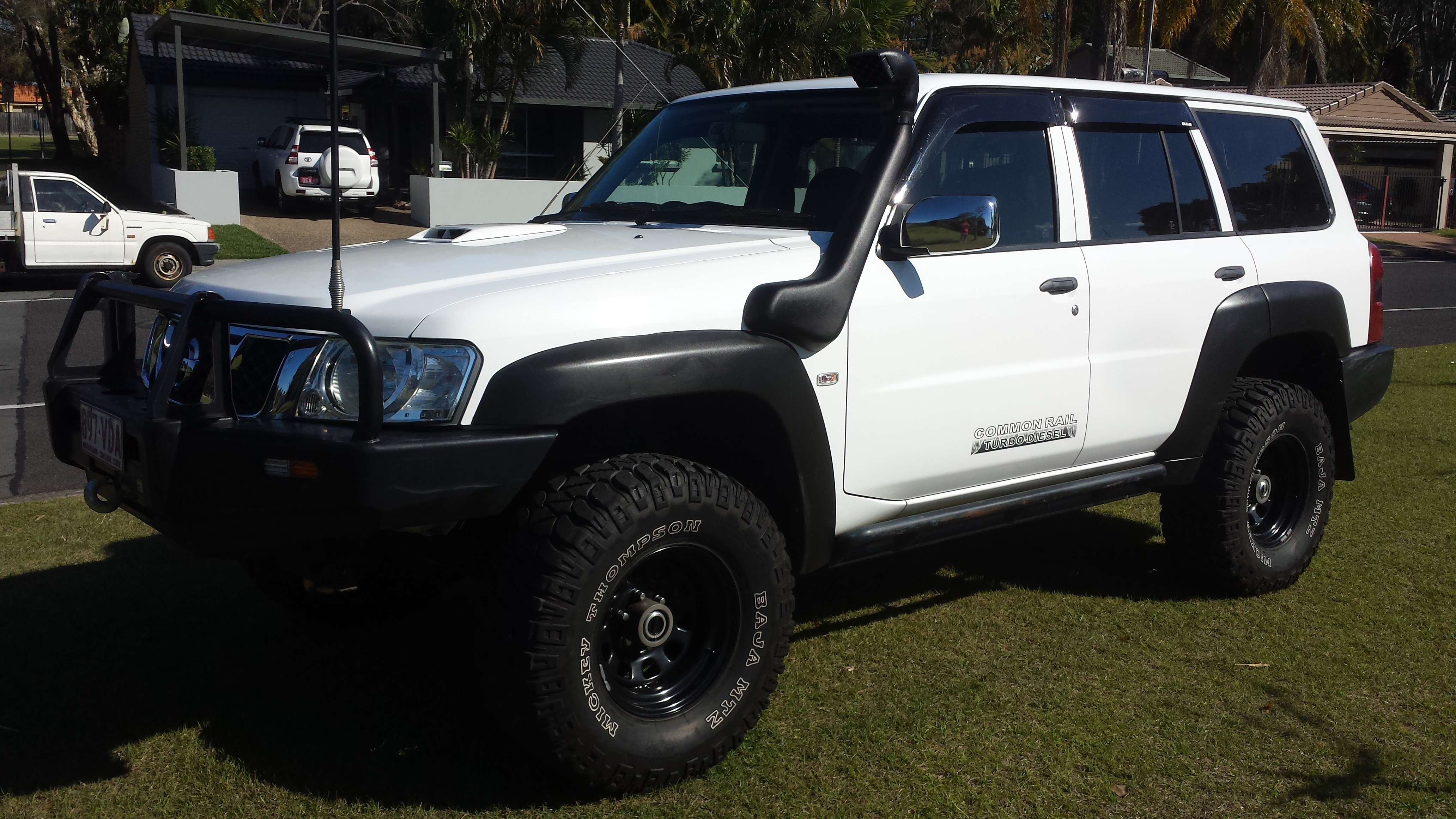 2008 nissan patrol dx 4x4 gu vi car sales qld gold coast 2958655. Black Bedroom Furniture Sets. Home Design Ideas