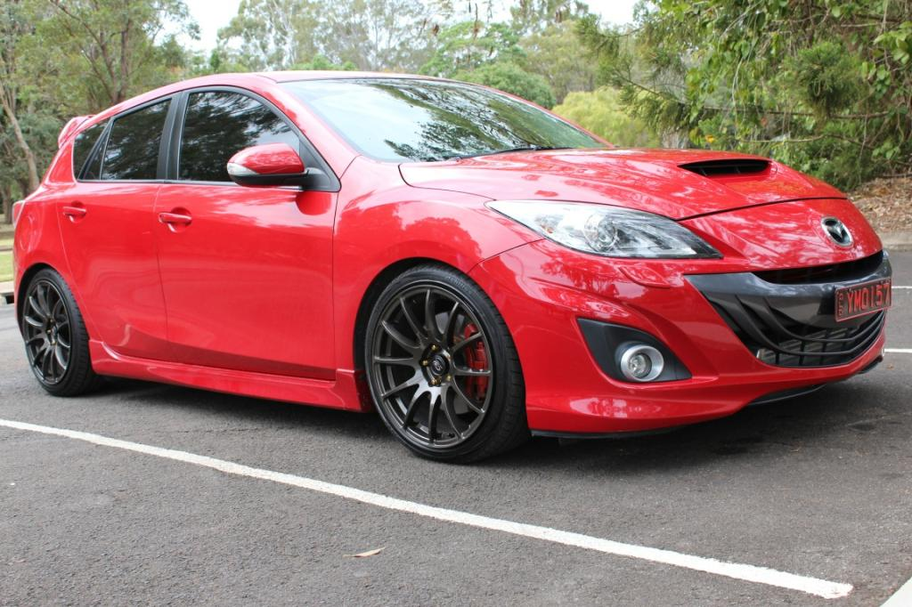 2009 mazda mazda3 mps luxury bl car sales qld fraser. Black Bedroom Furniture Sets. Home Design Ideas