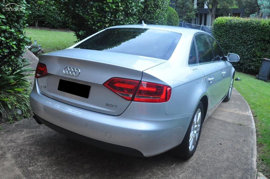 2011 audi a4 2 0 tfsi b8 8k my11 car sales qld. Black Bedroom Furniture Sets. Home Design Ideas