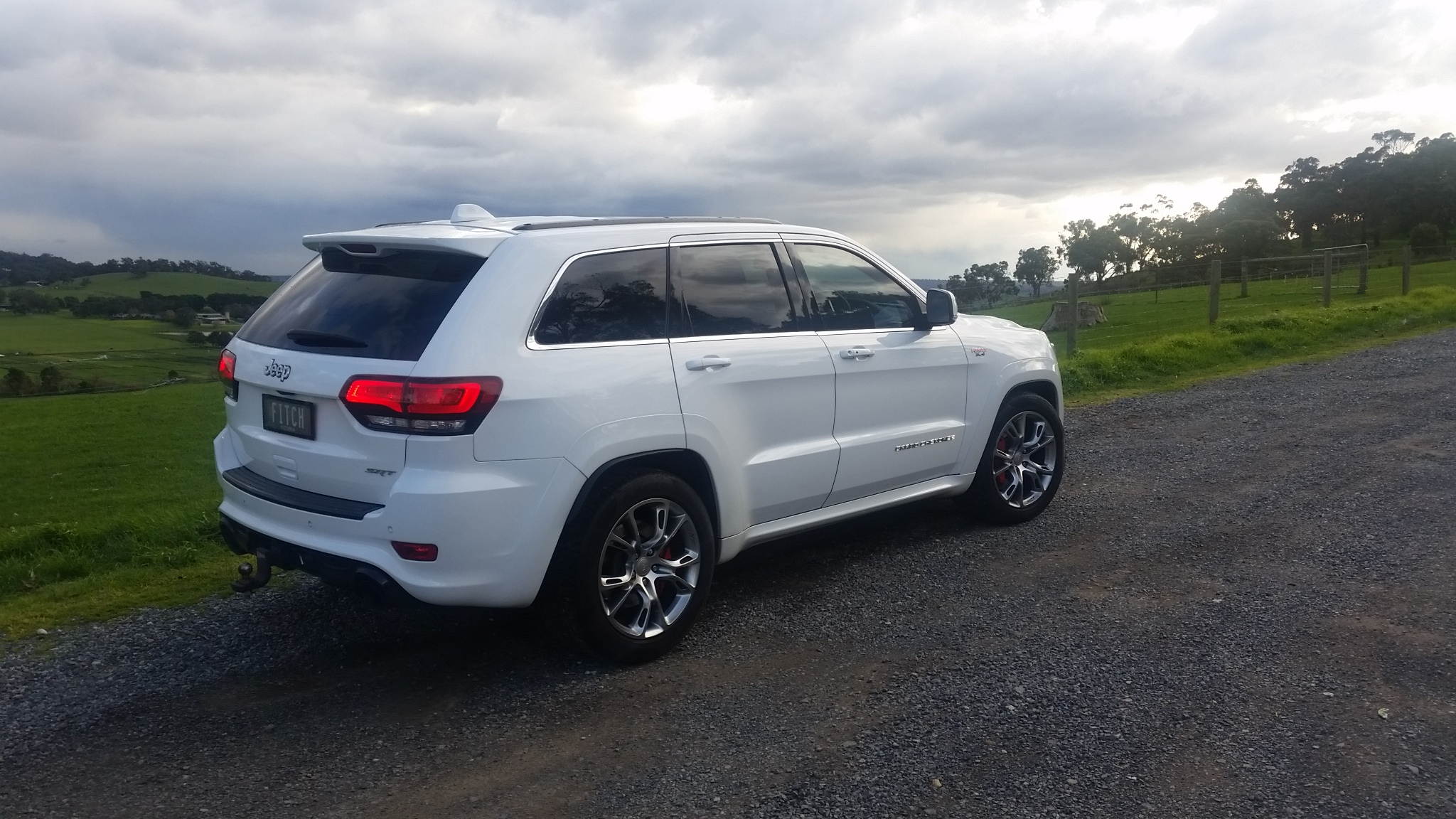 2014 jeep grand cherokee srt 8 4x4 wk my14 car sales vic melbourne 2943451