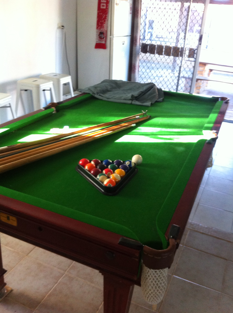 Slate pool table and acc miscellaneous qld brisbane for Table for 6 brisbane