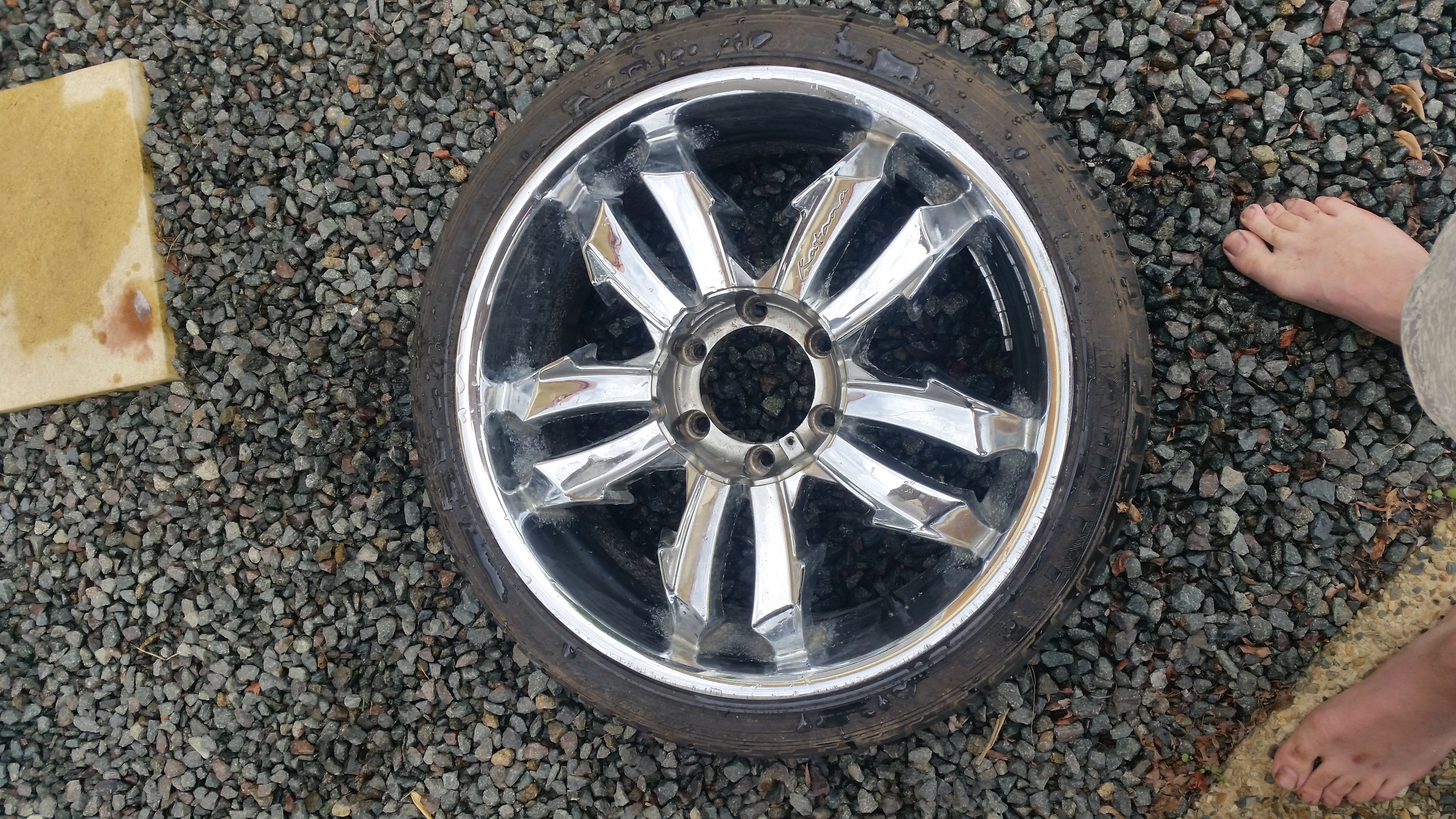 20 Inch Chrome Wheels Suit Ford Ranger Bt50 Rodeo