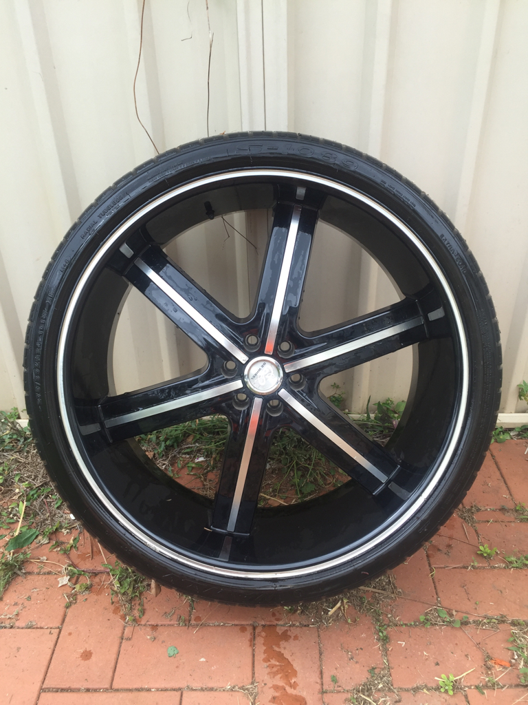 24 inch rims and tyres suit navara d40 wheels tyres qld. Black Bedroom Furniture Sets. Home Design Ideas
