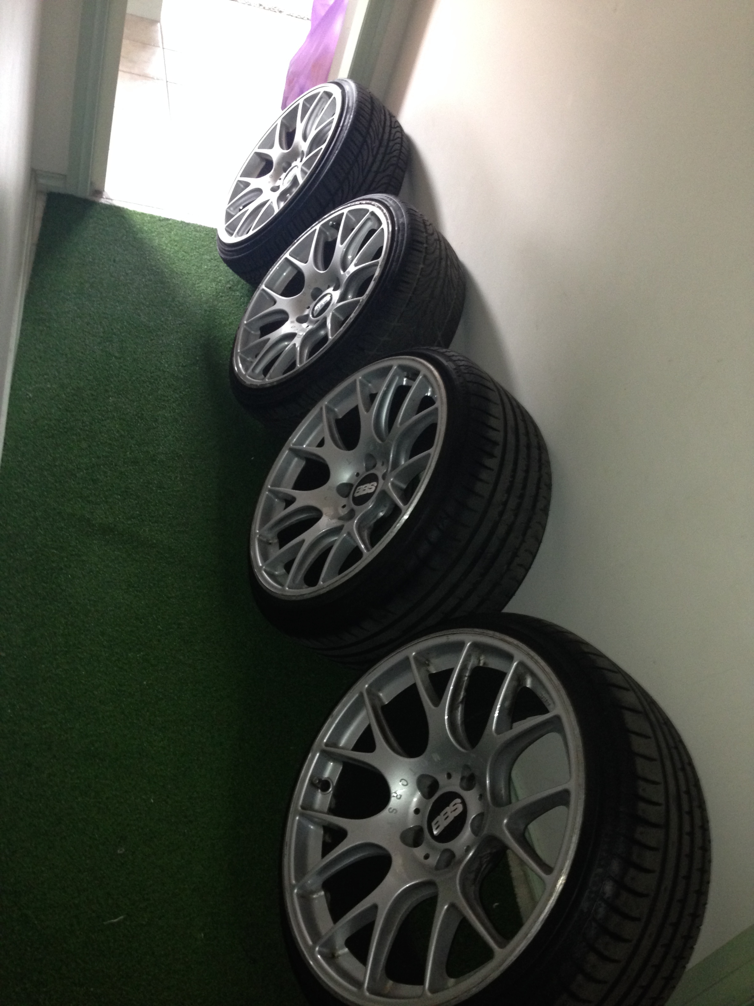 bbs chr 19 inch wheels for sale with tyres for bmw 2641132. Black Bedroom Furniture Sets. Home Design Ideas