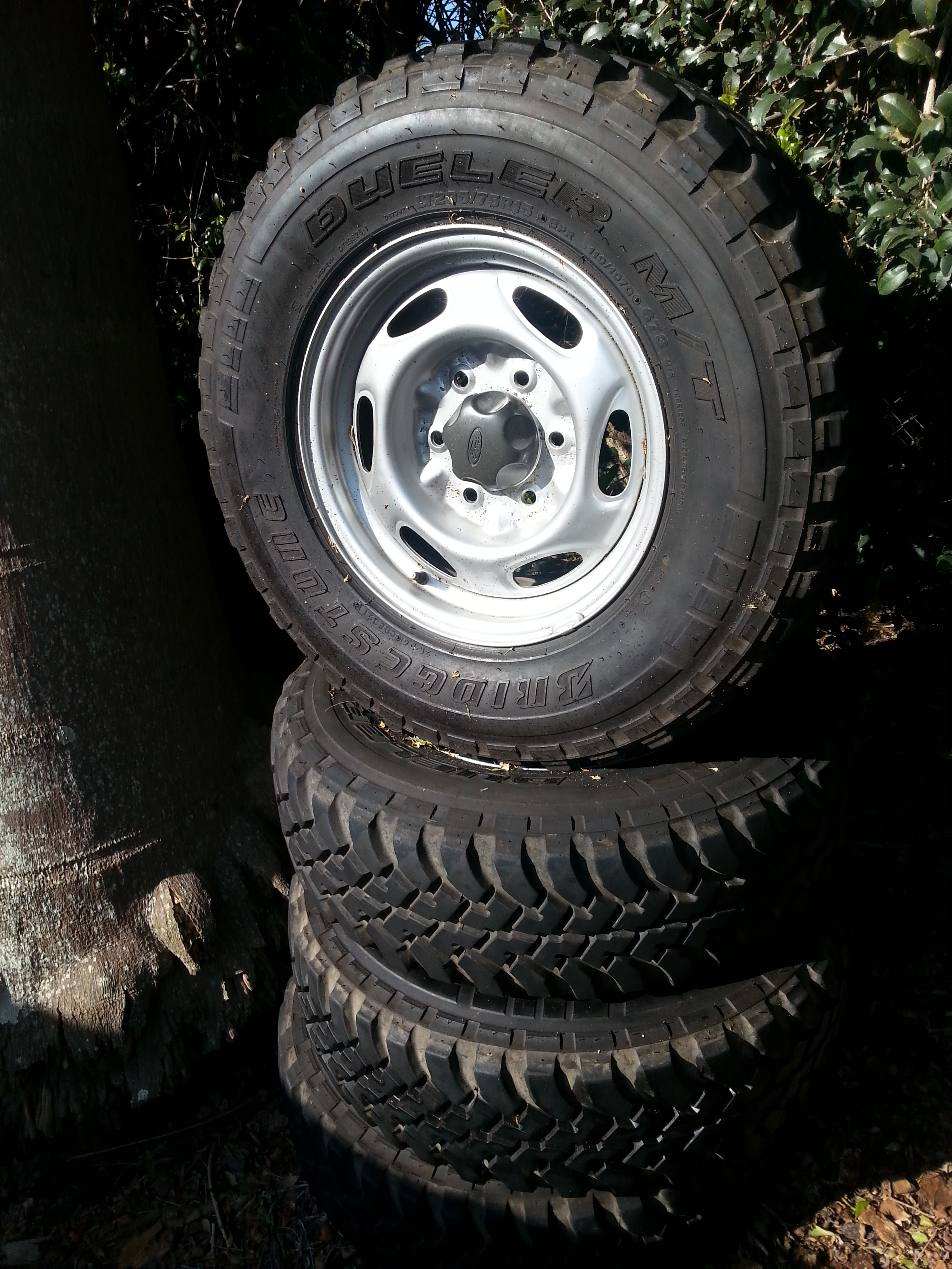 Ford Ranger Wheels 15 INCH