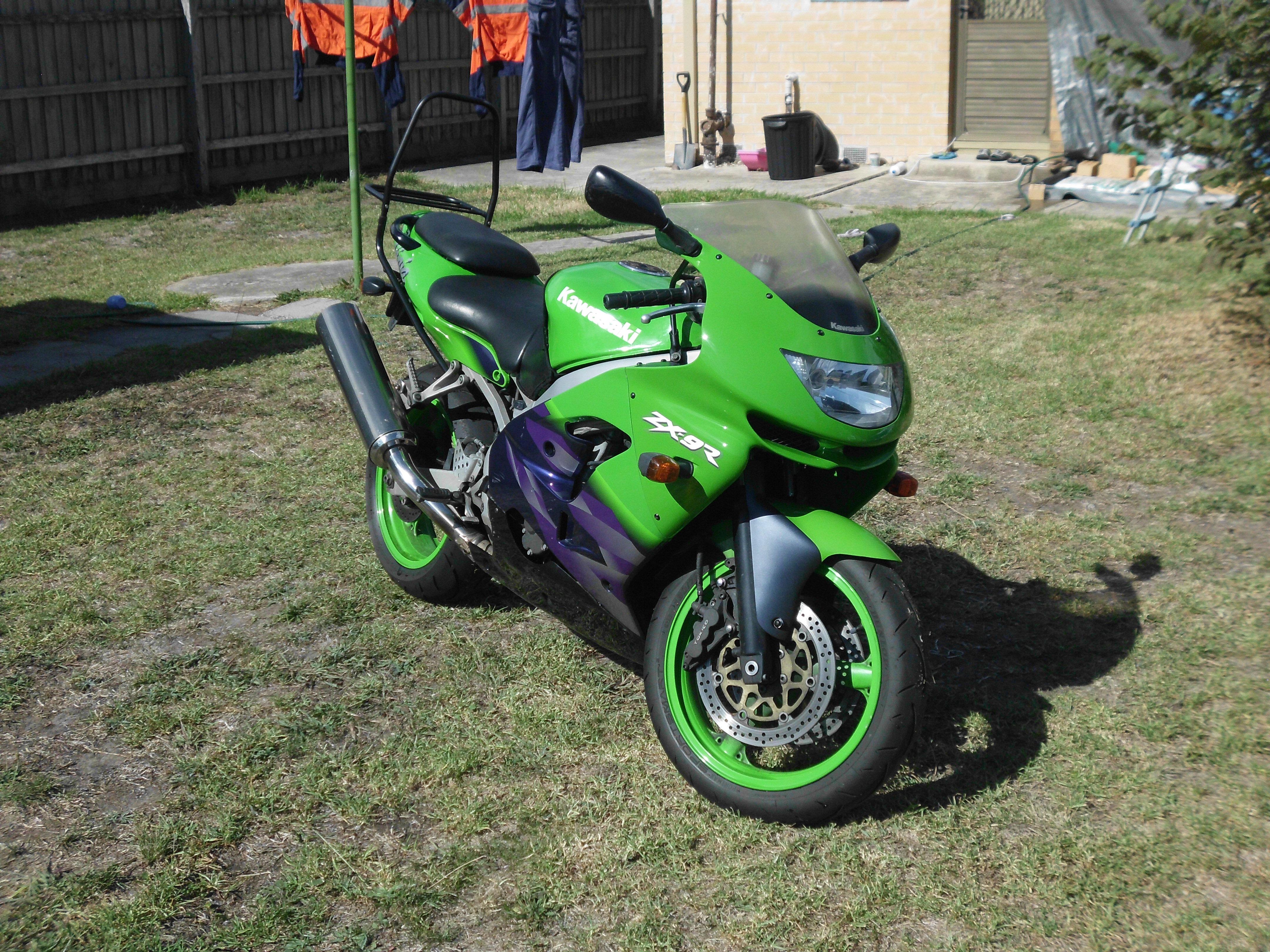 Мотоцикл Kawasaki ZX-9R 1999 Цена, Фото, Характеристики