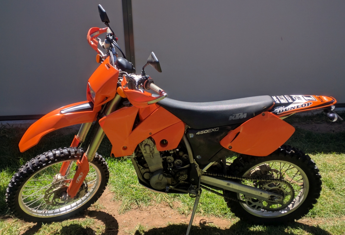 2003 ktm 450 exc my03 bike sales sa adelaide 2959006. Black Bedroom Furniture Sets. Home Design Ideas