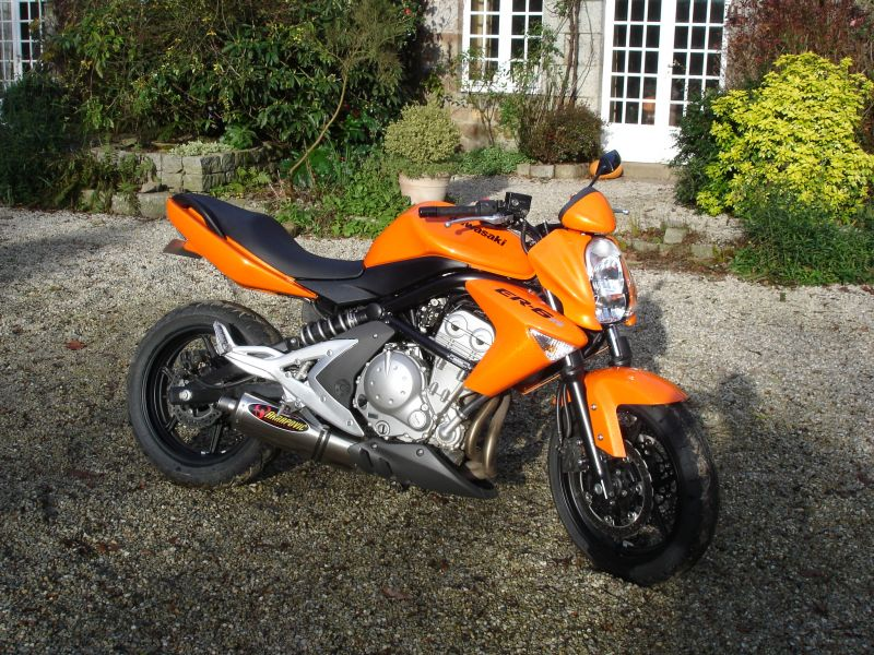 2007 Kawasaki Er 6n Bike Sales Qld Bundaberg 2662012