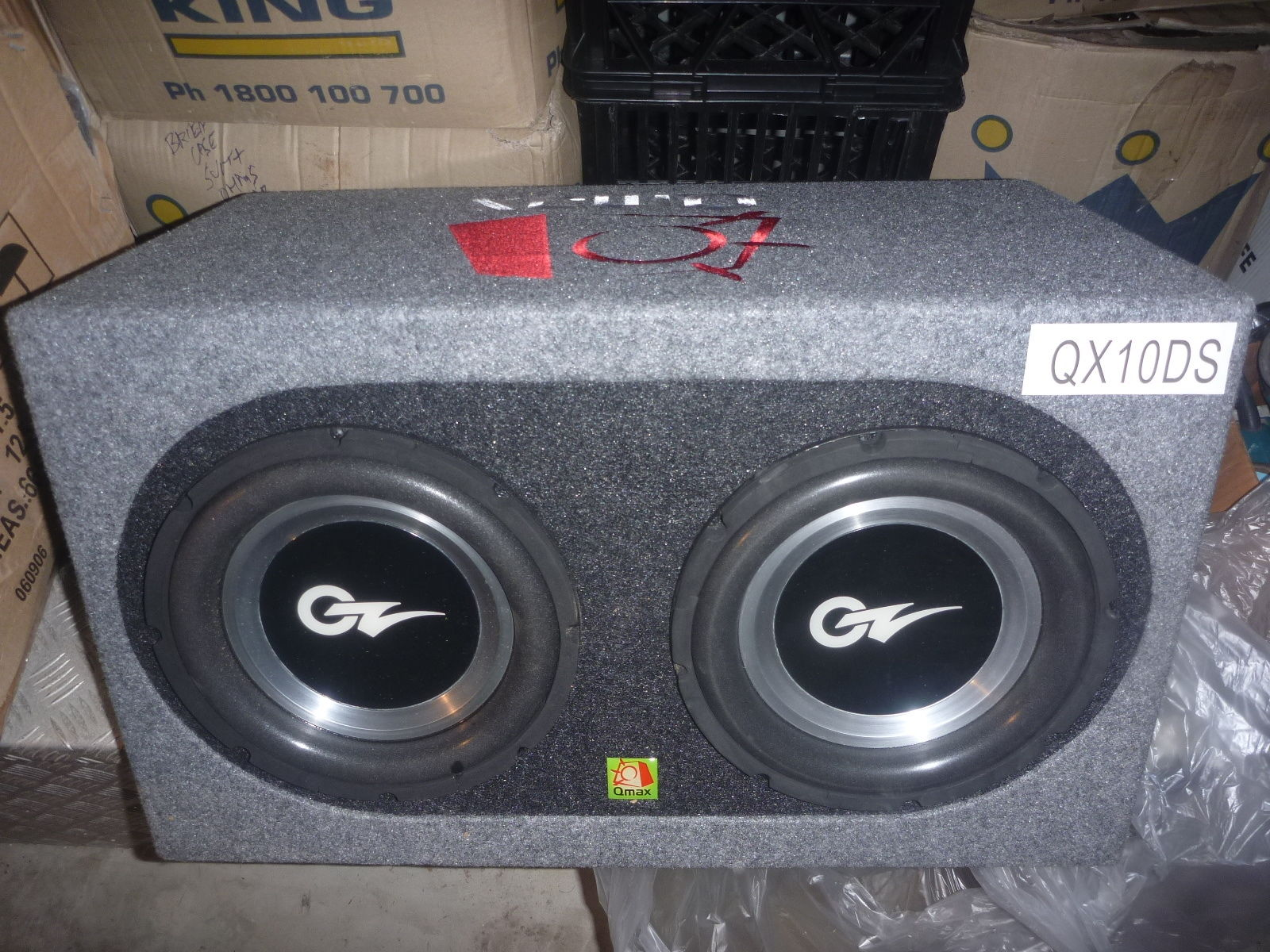 OZ Audio - 2 X 10\