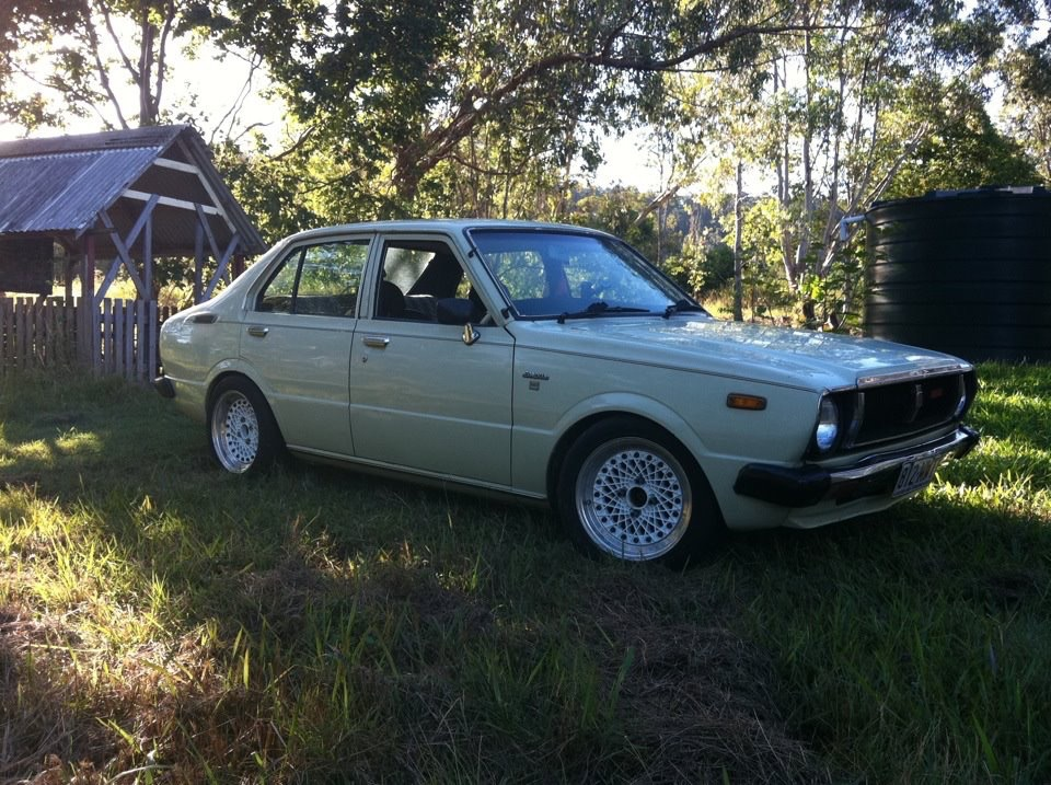 1979 toyota corolla for sale or swap qld mackay 2780753. Black Bedroom Furniture Sets. Home Design Ideas