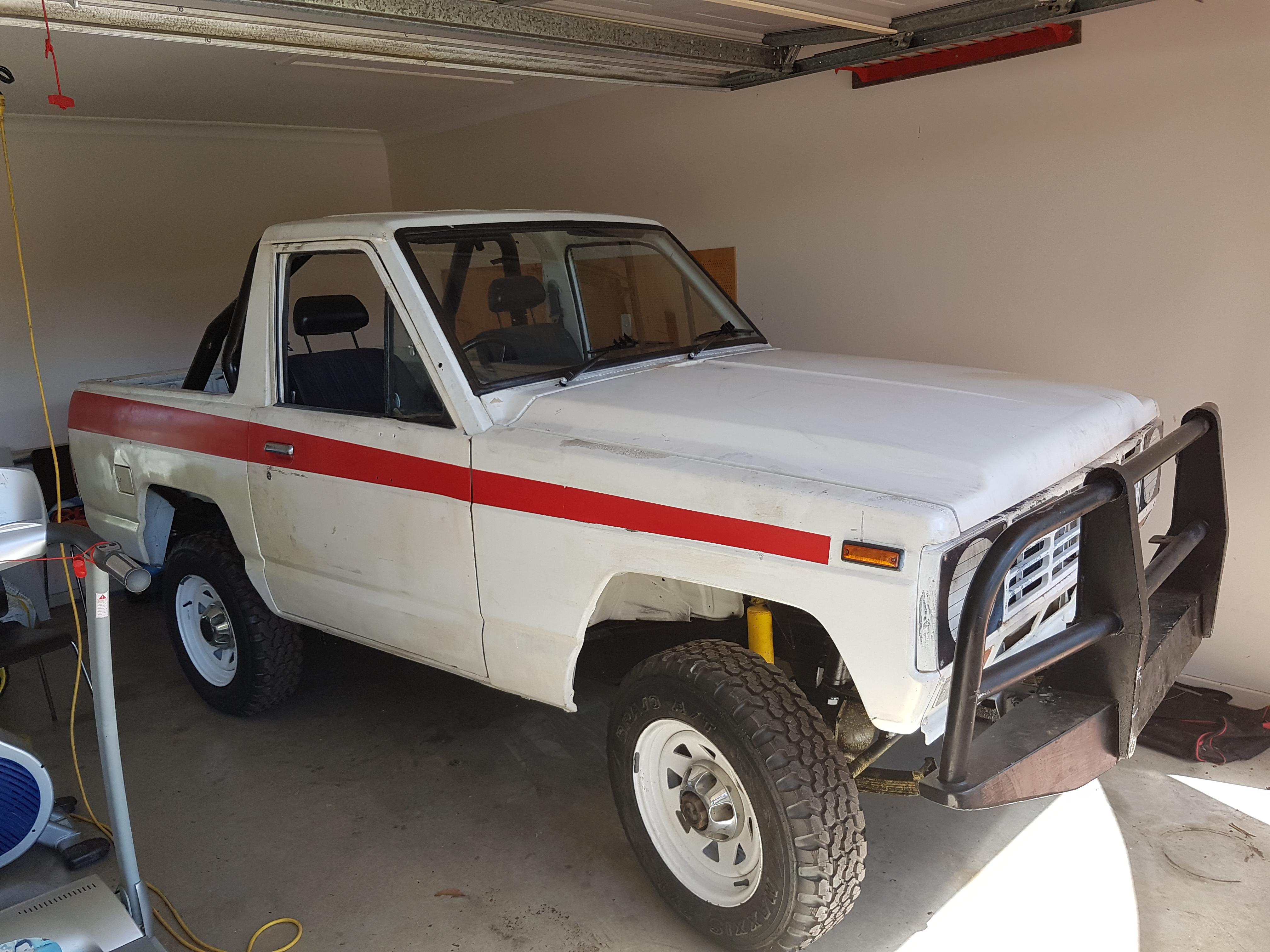 1982 nissan patrol