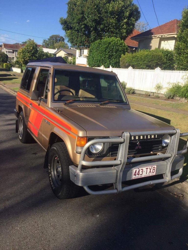 1985 Mitsubishi Pajero | Car Sales QLD: Brisbane South #2951147