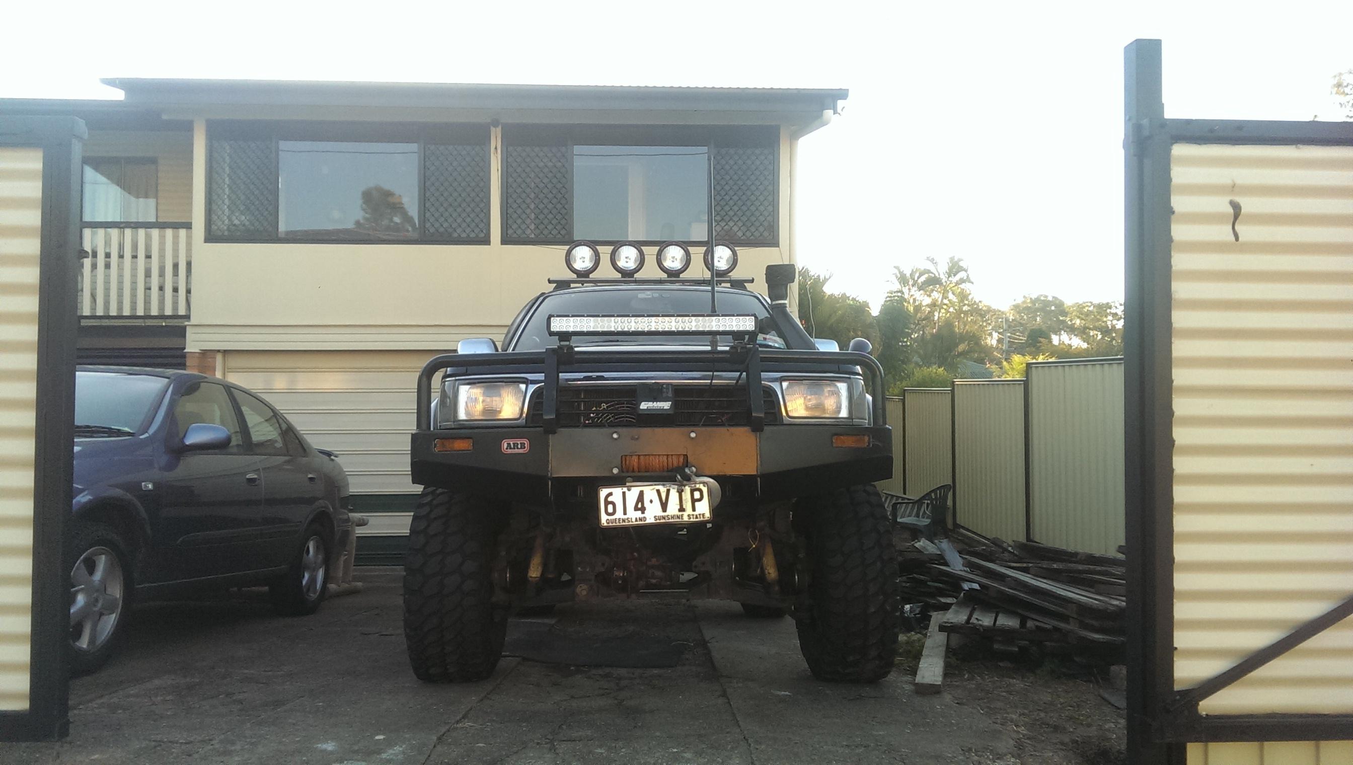 1992 Toyota Hilux Surf Car Sales Qld Brisbane East 2698934