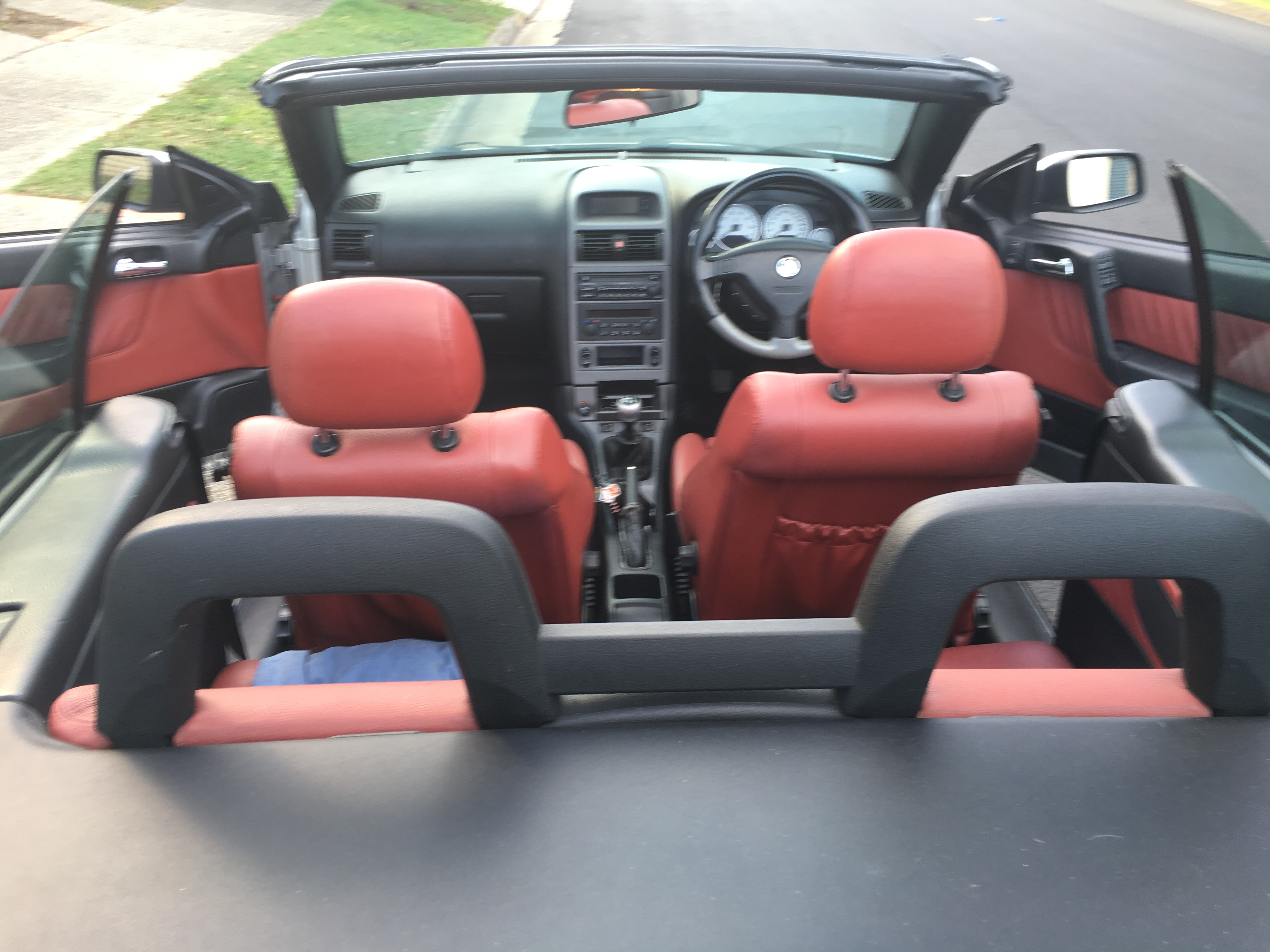 2004 Holden Astra Convertible Turbo Ts