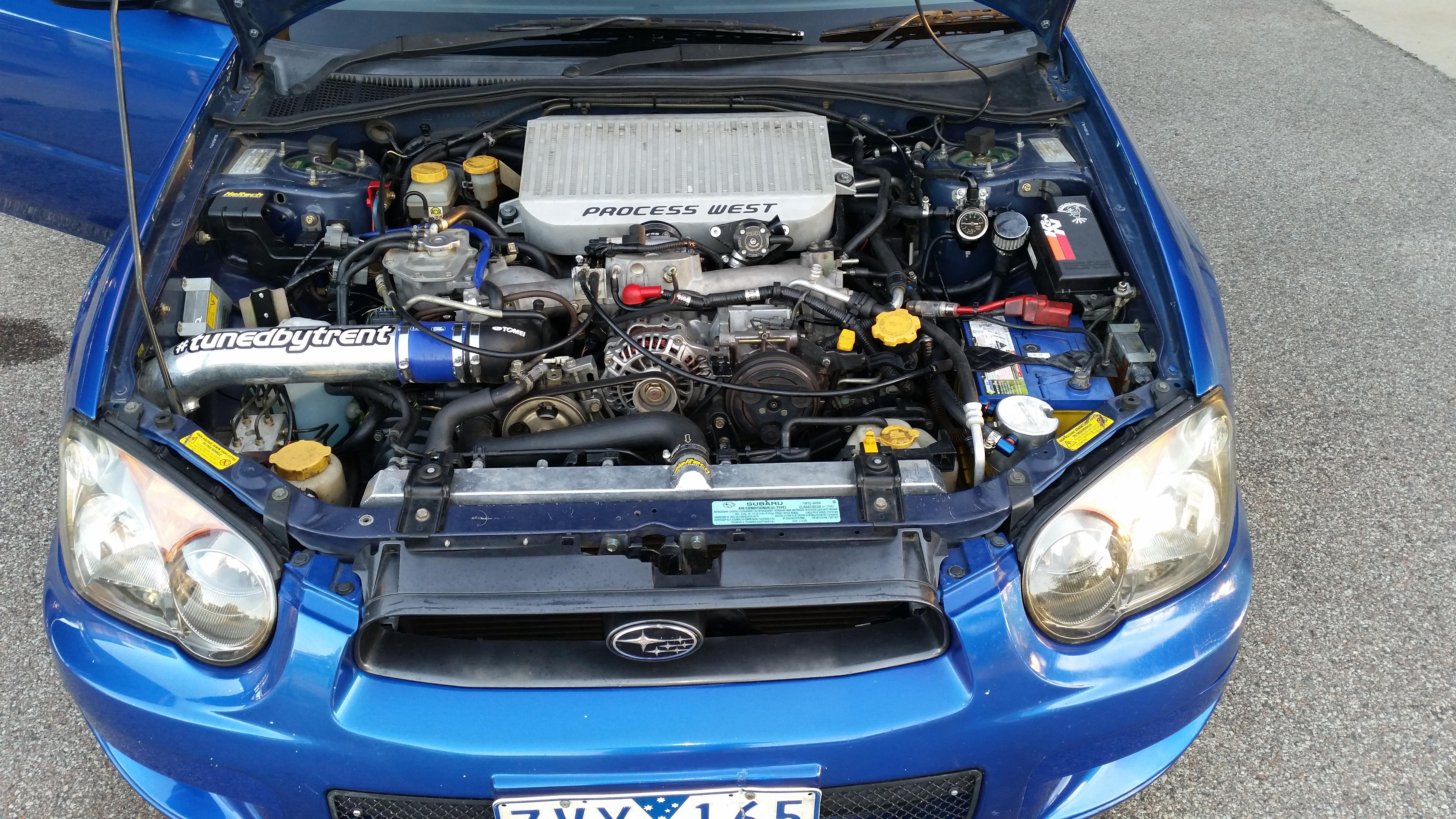 2004 Subaru Impreza WRX Petter Solberg AWD MY04
