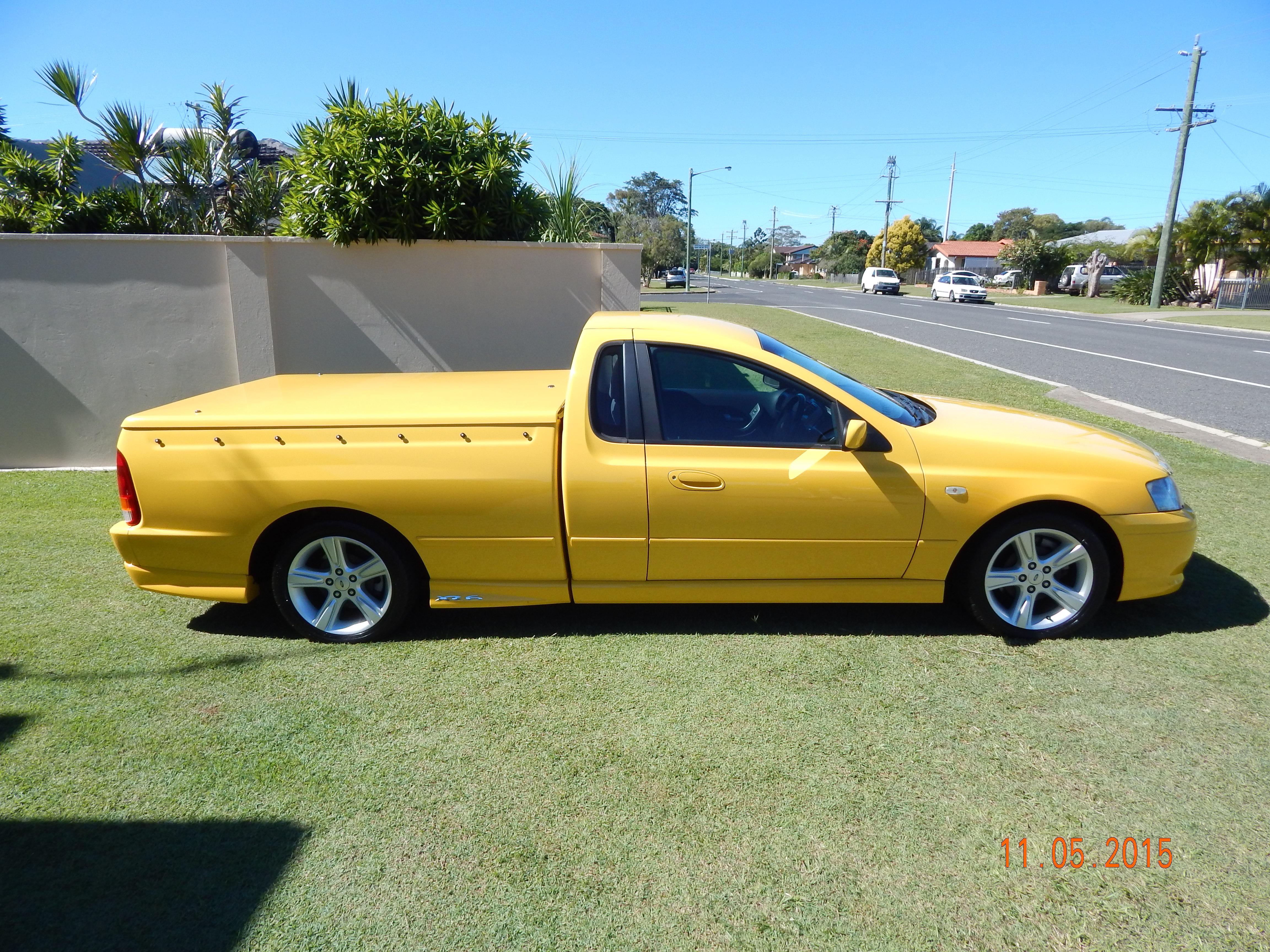 2005 Ford Falcon Ute Car Sales Qld Fraser Coast 2631657