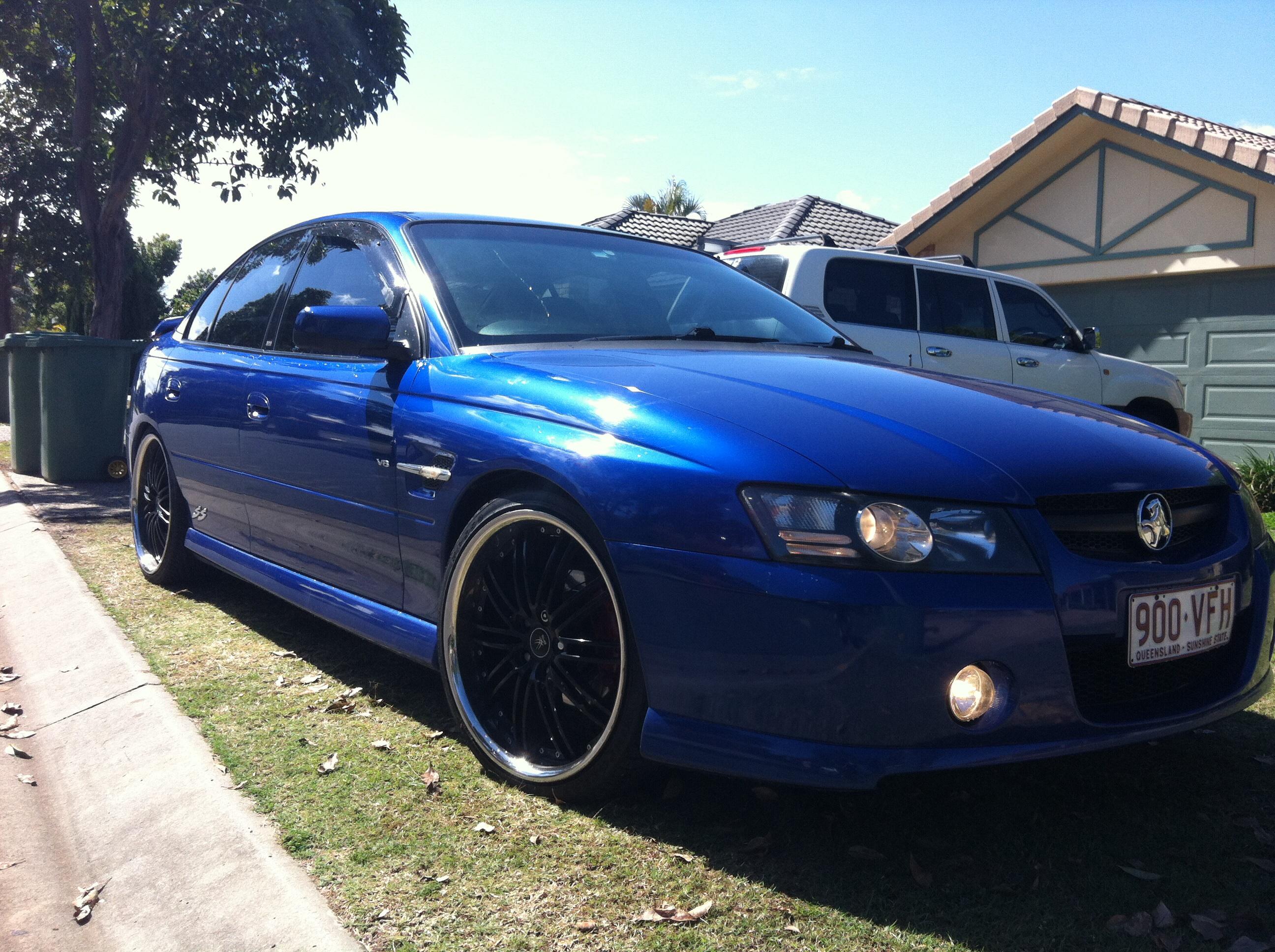 Fuel Wheels 20x9 >> 2005 Holden Commodore SS VZ   Car Sales QLD: Brisbane ...