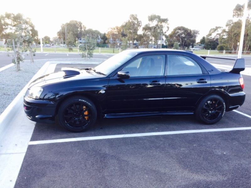2005 subaru impreza wrx sti my05 car sales vic melbourne 3045827. Black Bedroom Furniture Sets. Home Design Ideas