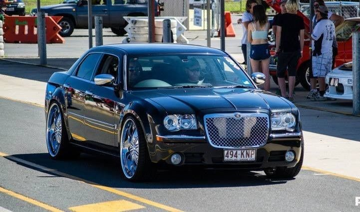 2007 chrysler 300c 5 7 hemi v8 le my08 car sales qld. Black Bedroom Furniture Sets. Home Design Ideas
