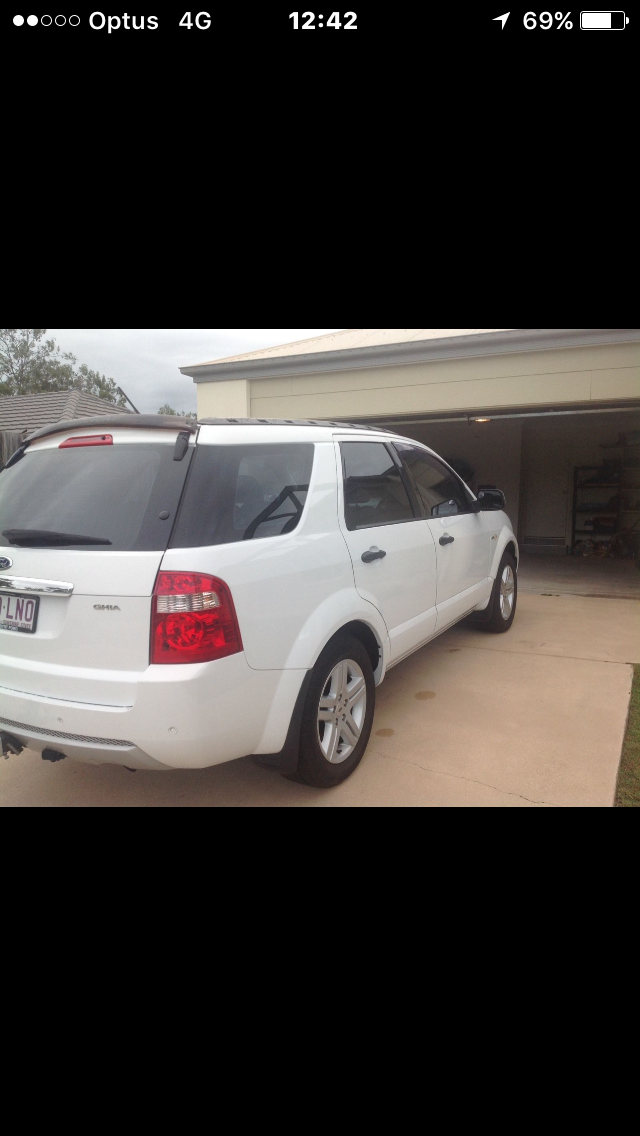 2008 Ford Territory Ghia 4x4 Sy Car Sales Qld Ipswich