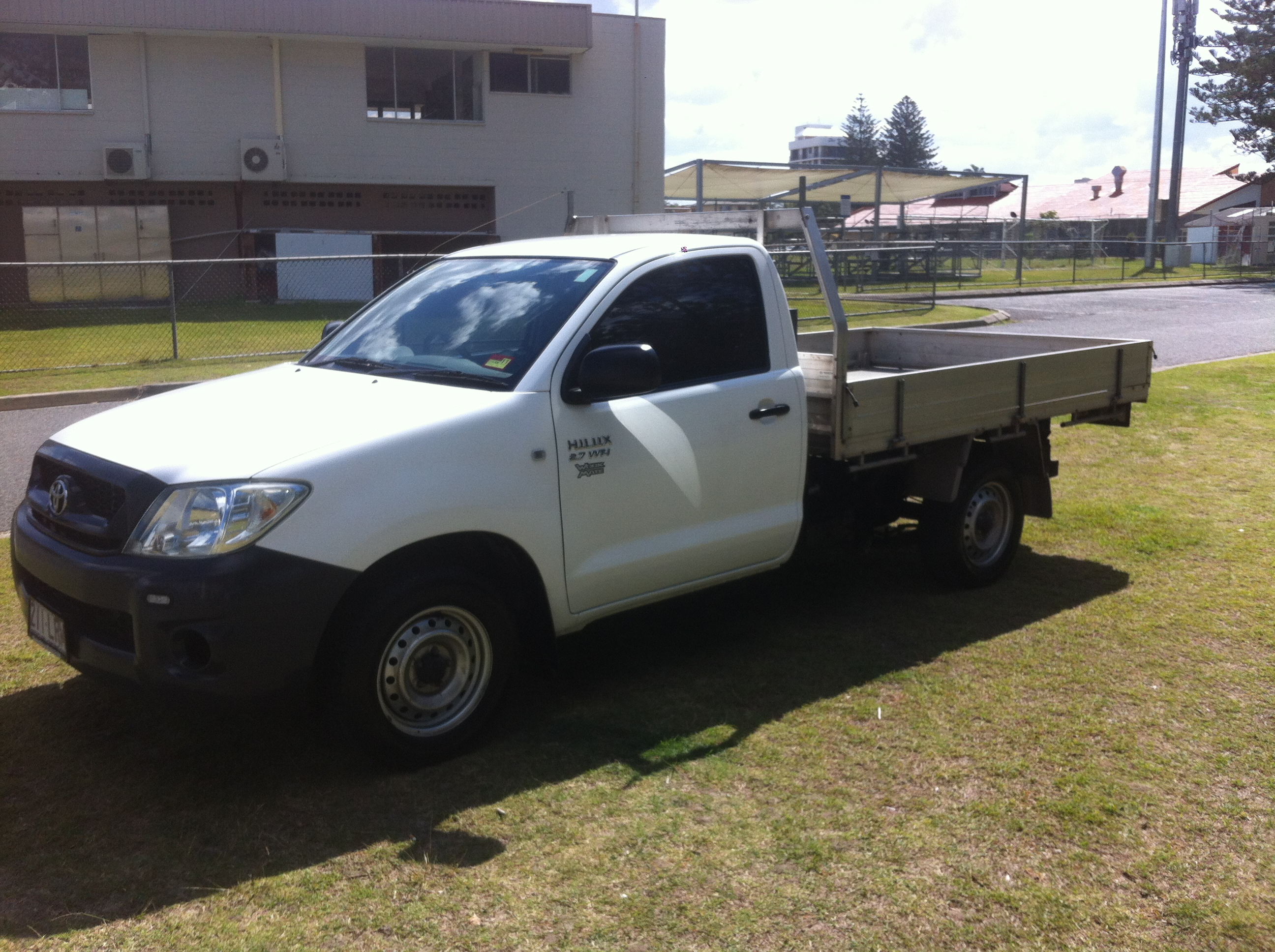 2009 Toyota Hilux Workmate Tgn16r 09 Upgrade Car Sales