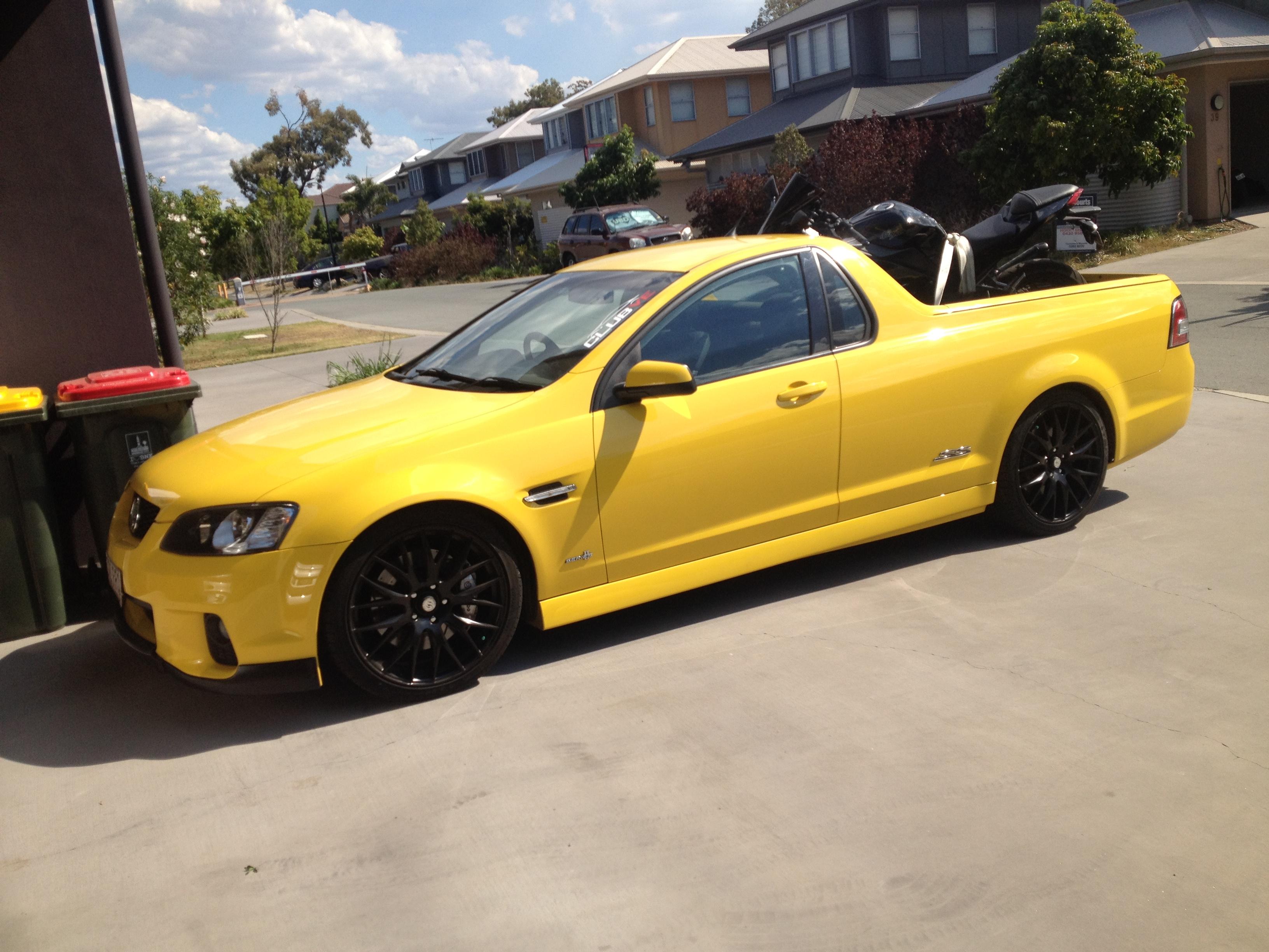 2011 Holden Ute Ss V Redline Vf Car Sales Qld Fraser