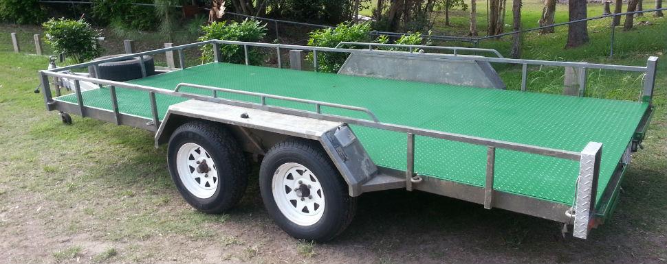 Trailer Hire Brisbane Ipswich Logan Car Caged Box From 50 24hr