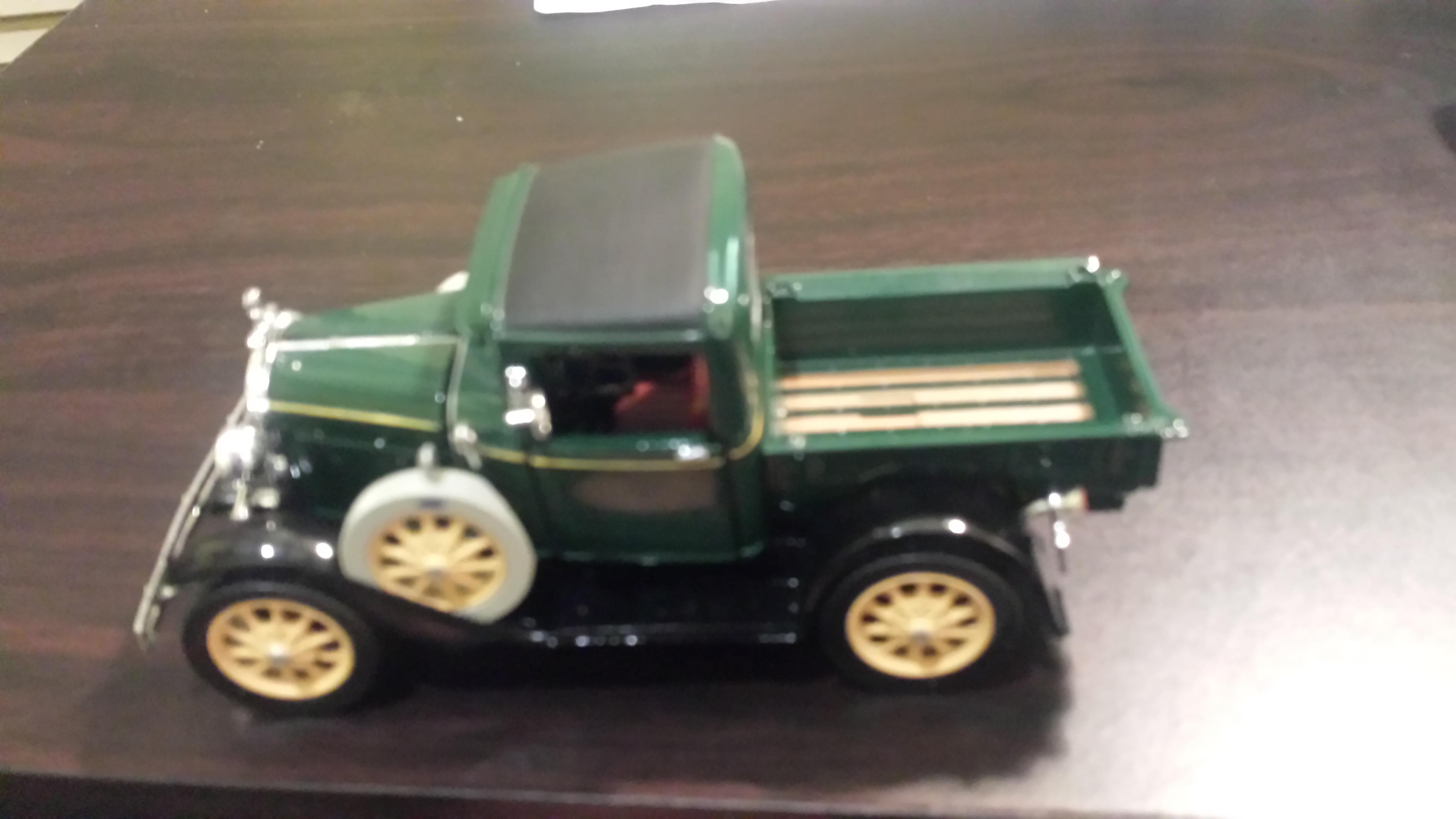 National Motor Museum Mint Diecast Model Pickup Truck